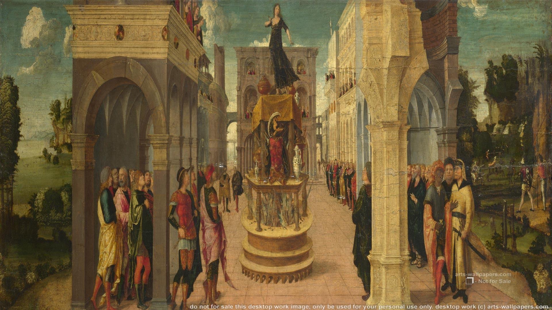Paintings, Art Print, Liberale Da Verona Wallpapers, Art Painting .