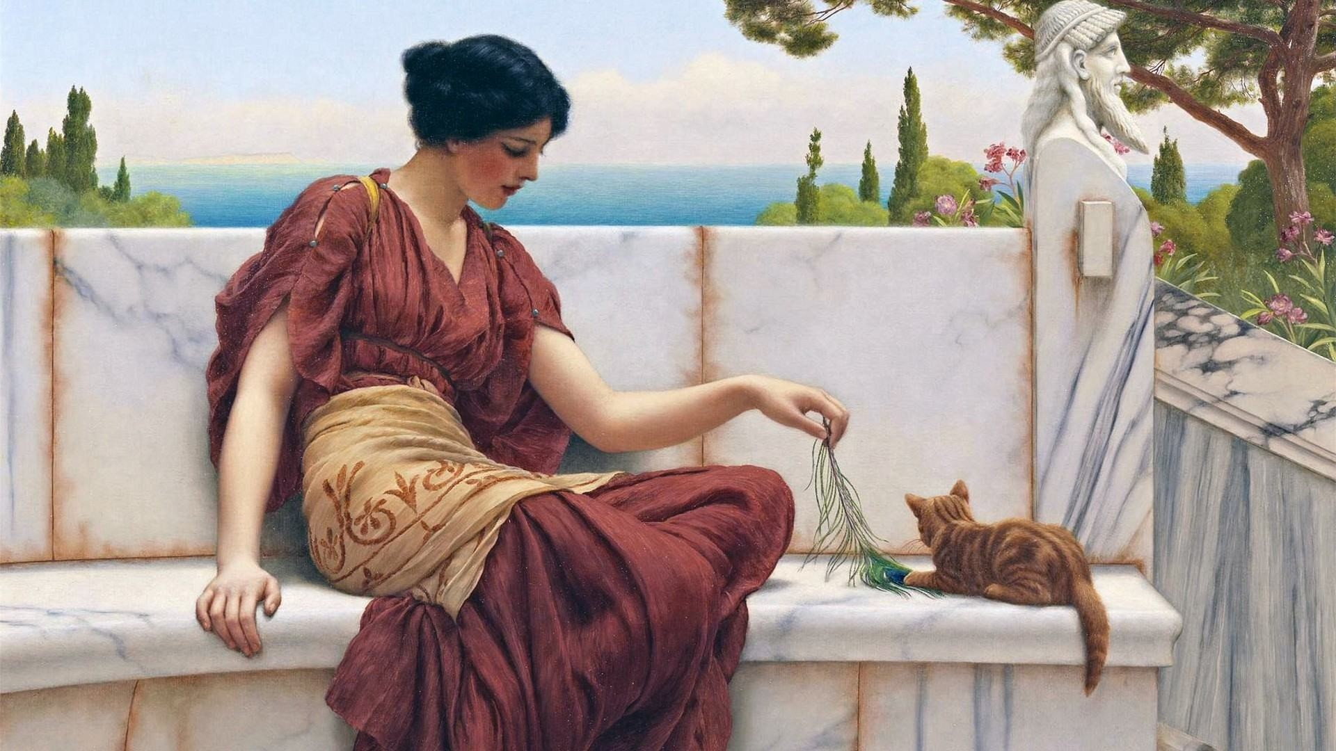 Wallpapers Backgrounds – Paintings Classic Wallpaper Art