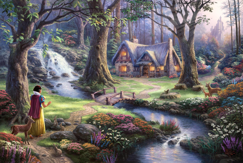 Thomas Kincaid Disney Desktop Wallpaper