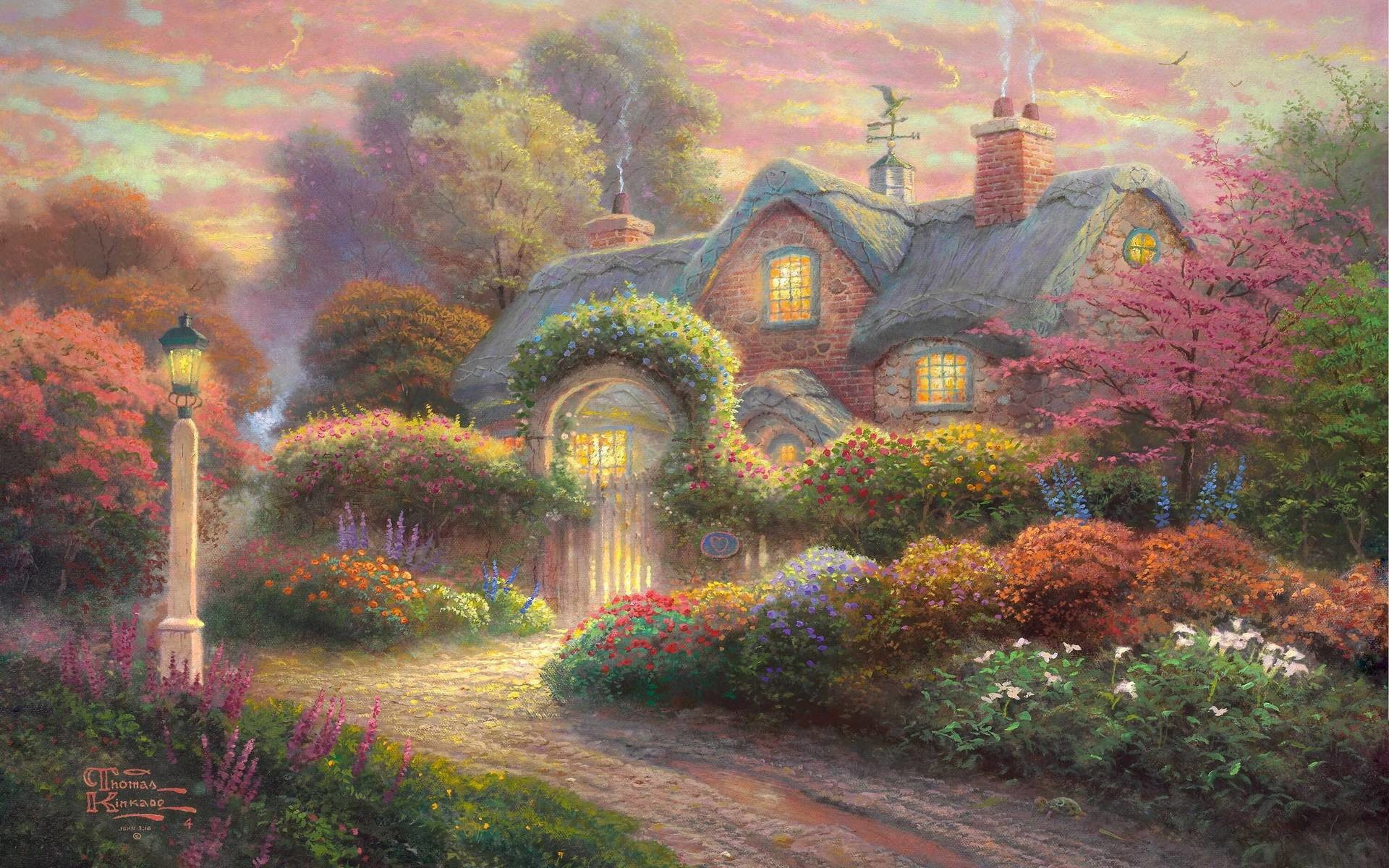Thomas Kinkade Wallpapers | HD Wallpapers Pictures