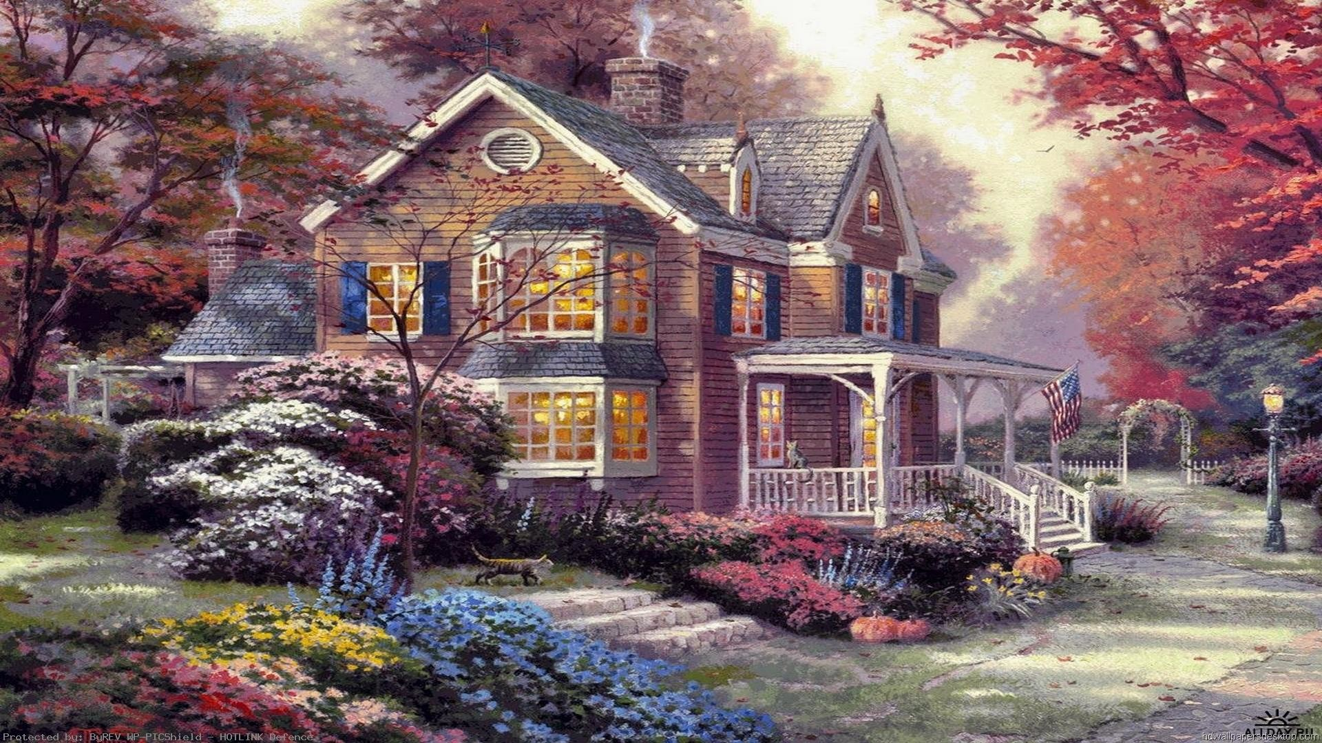 Image-Detail-for-Thomas-Kinkade-Paintings-Art-HD-