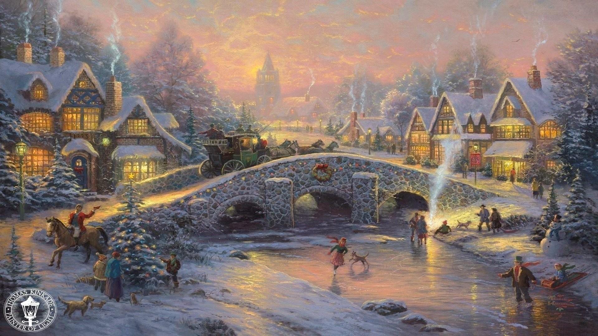 Thomas Kinkade Christmas 467426 …