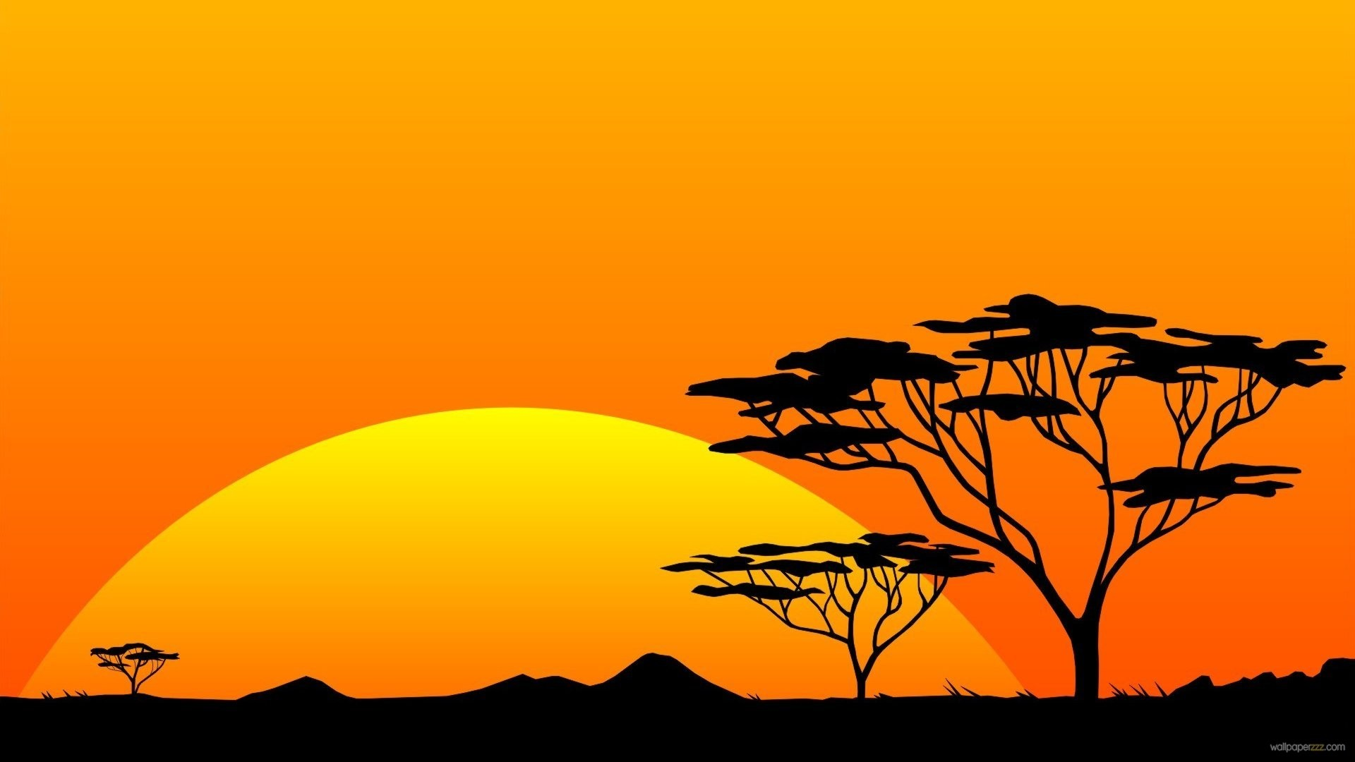 Scenery Safari Hires Sun Sunrise Africa wallpapers HD free – 171589