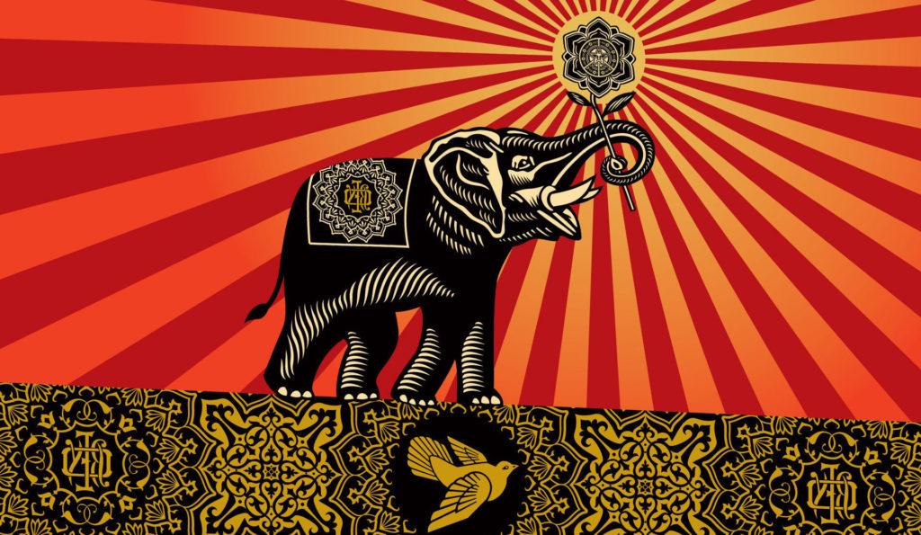 Obey Elephants Shepard Fairey Incase Wallpapers HD / Desktop and Mobile  Backgrounds