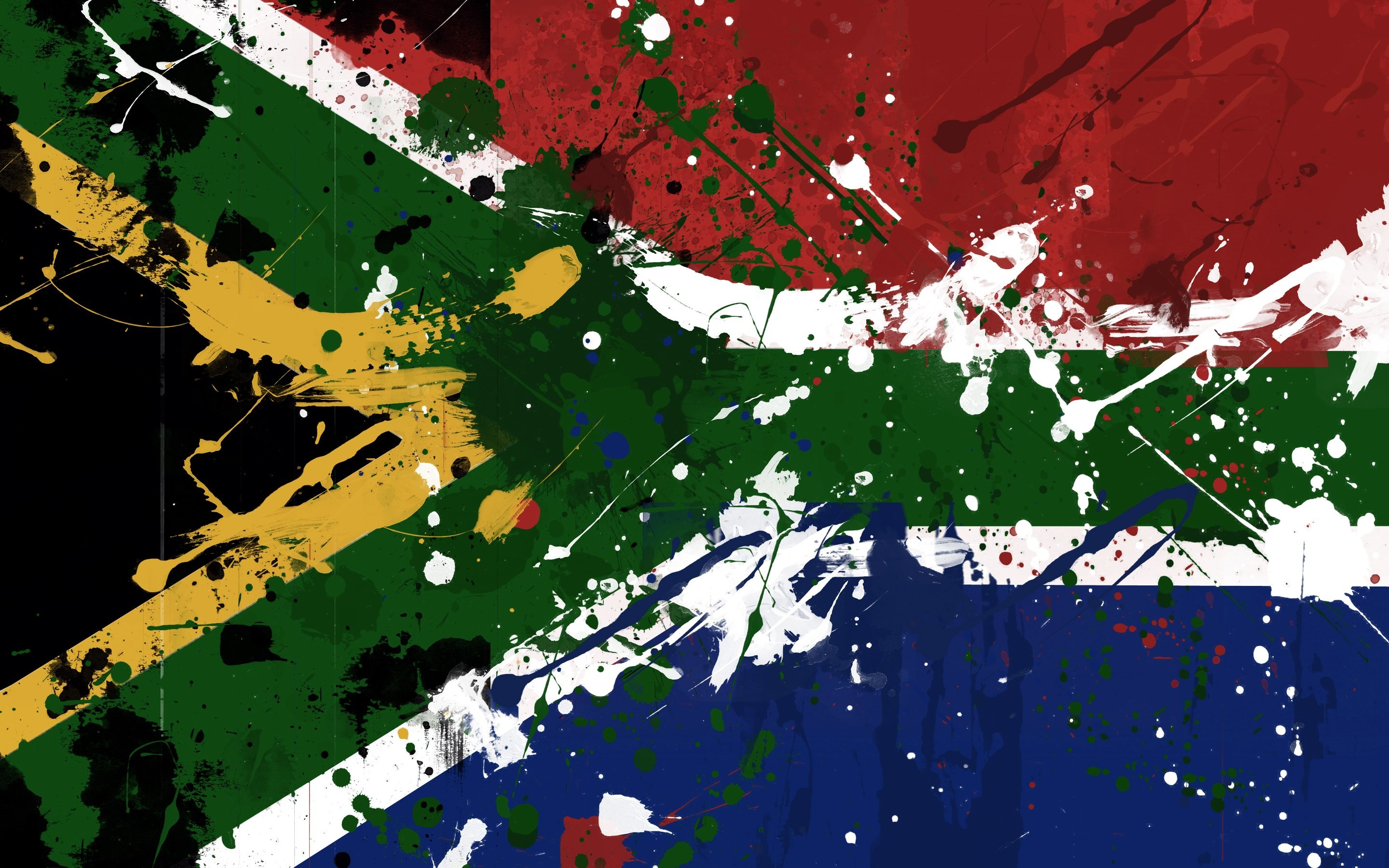South African Flag 695940