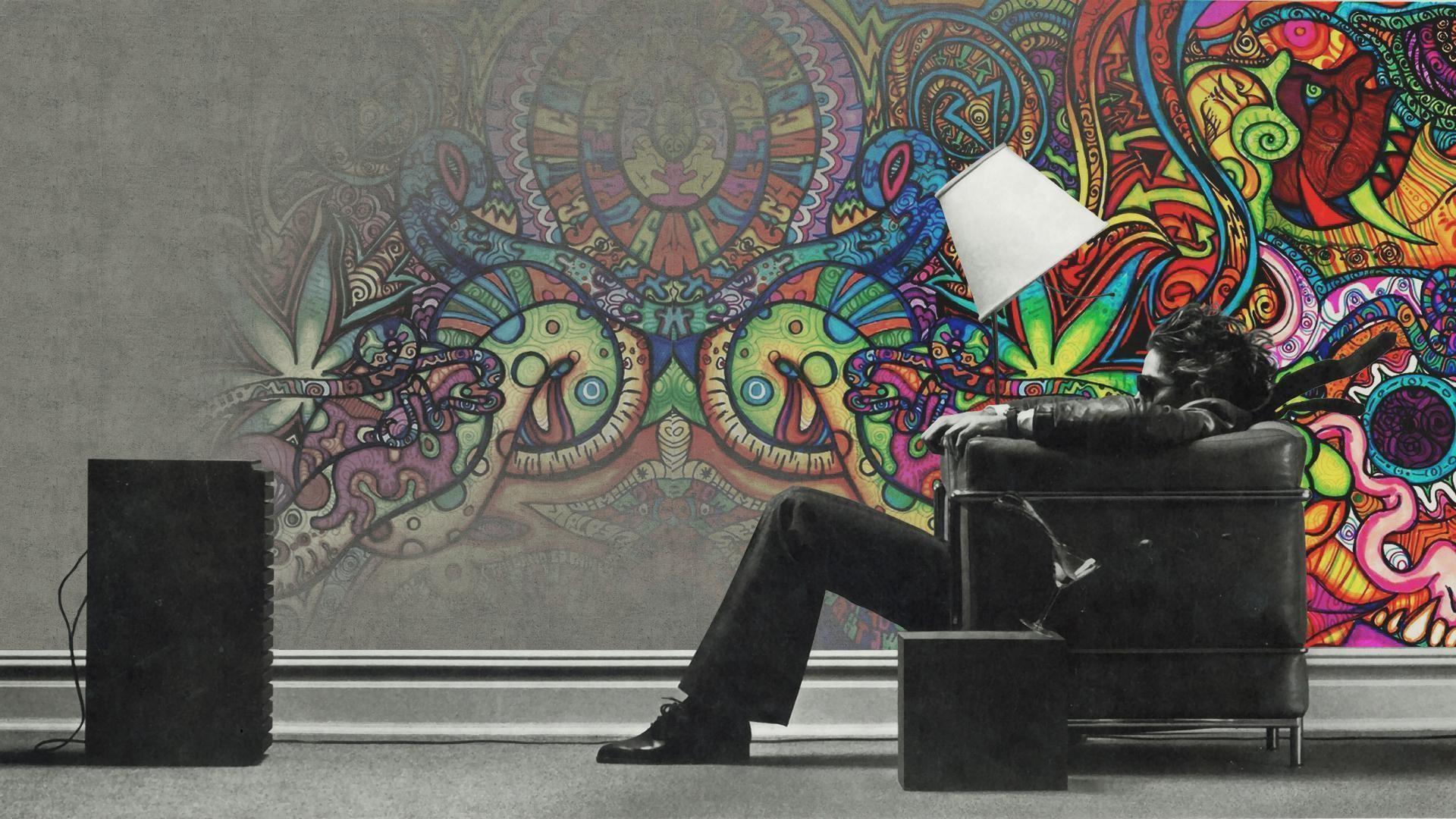 Psychedelic Desktop Wallpaper HD – WallpaperSafari