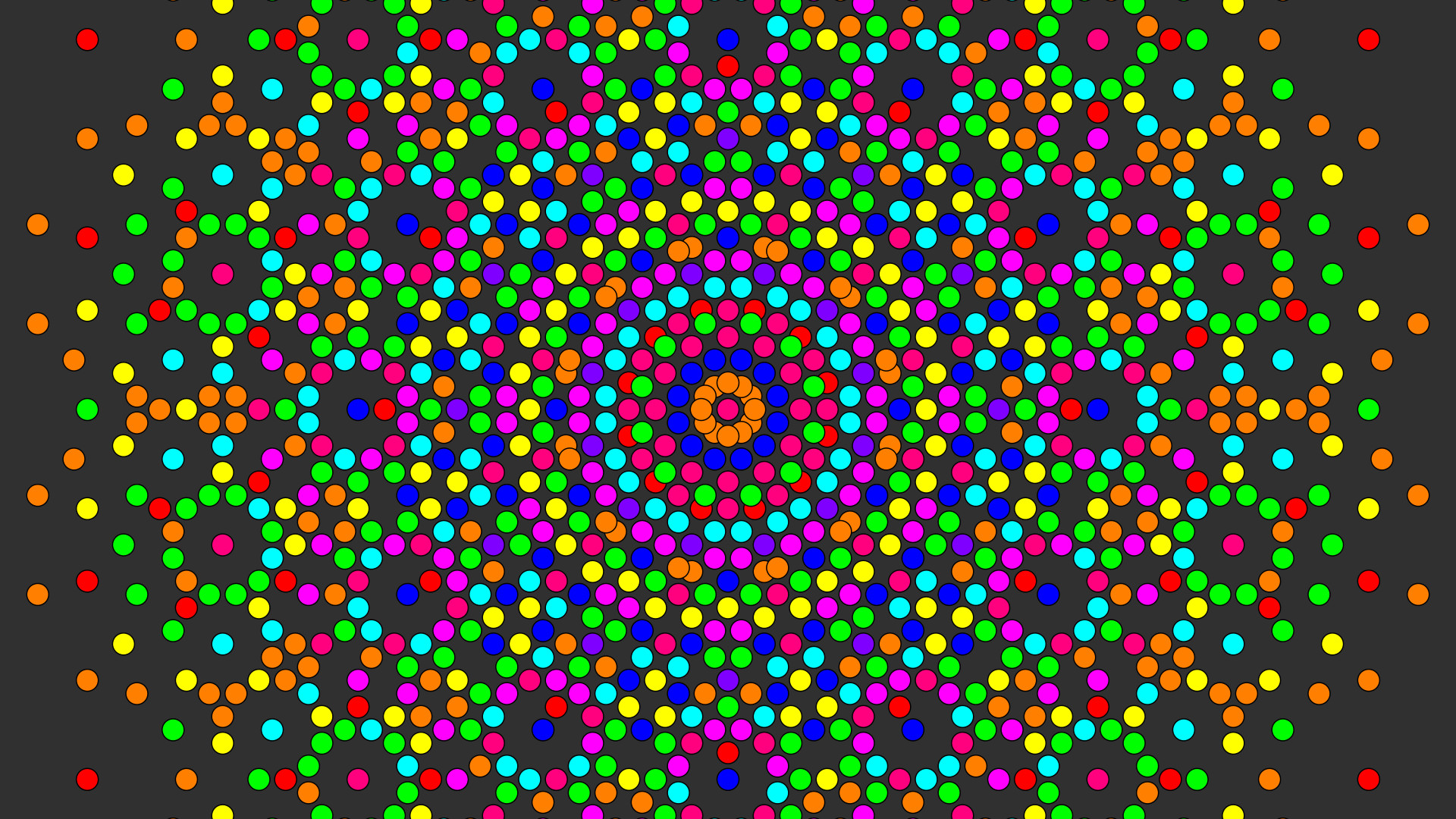 psychedelic, Colorful, Circle, Artwork, Abstract, Symmetry .