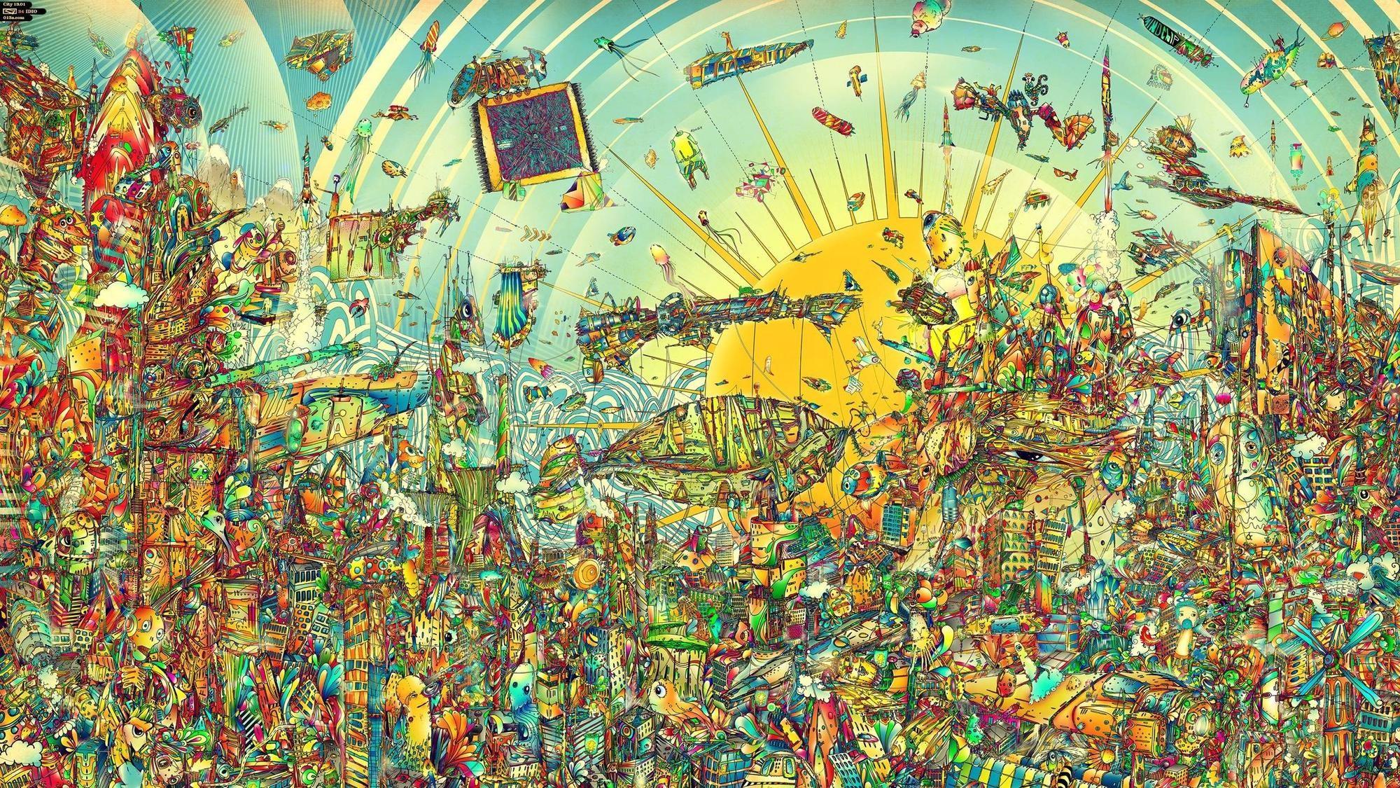 HD Big Trippy Desktop Wallpaper – WallpaperSafari