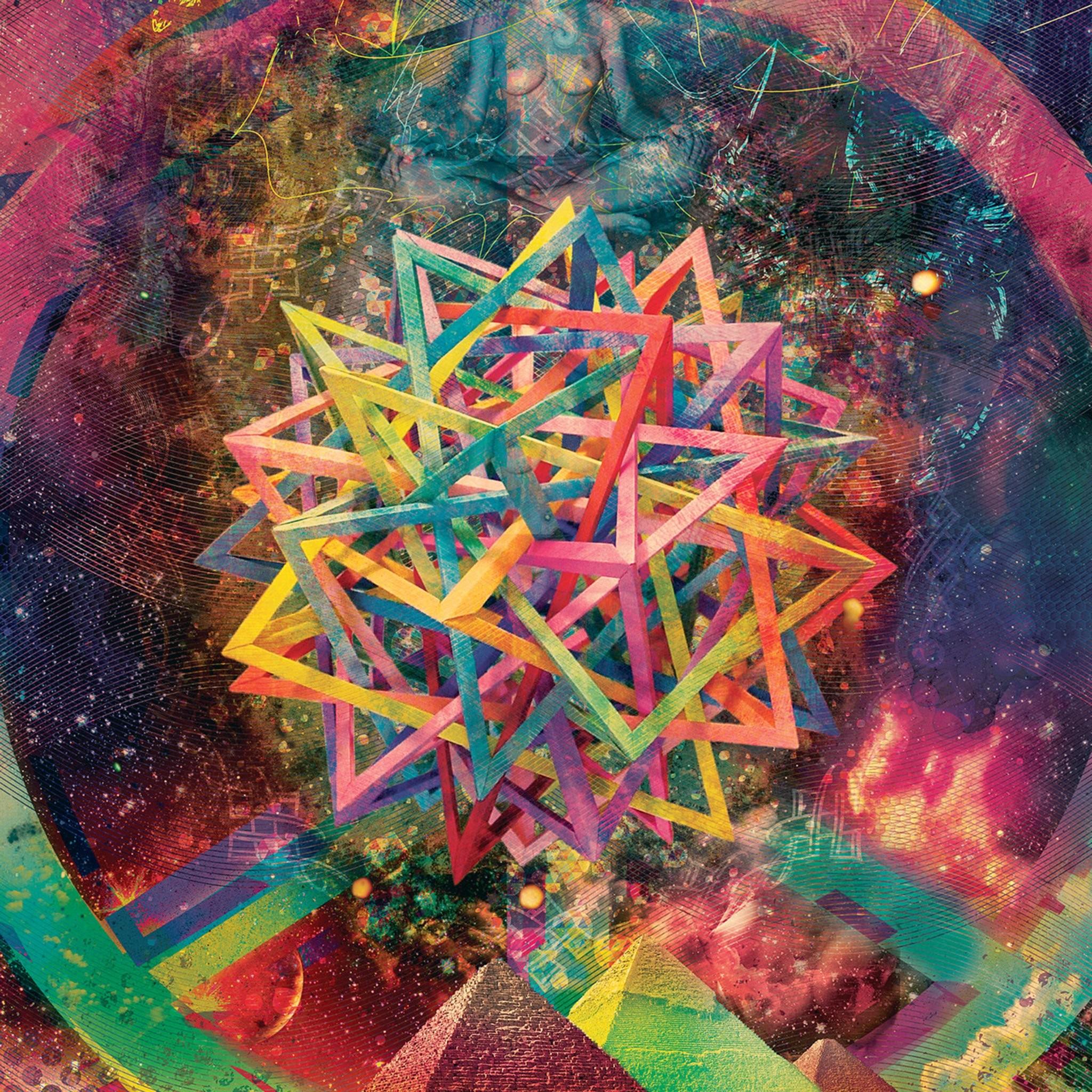 FREEIOS7   abstract-psychedelic-art – parallax HD iPhone … mountain desktop  wallpaper …