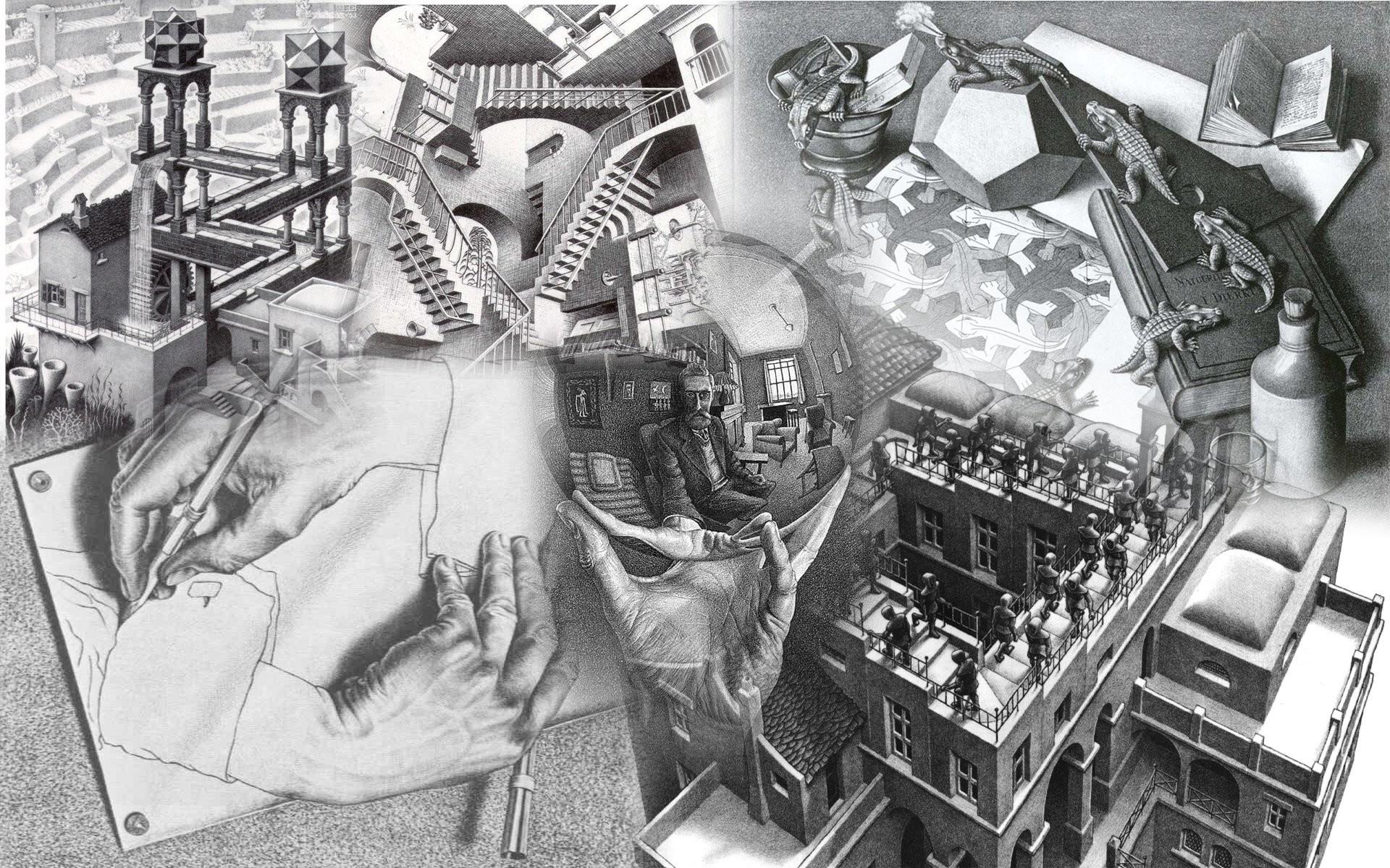 Mc Escher …