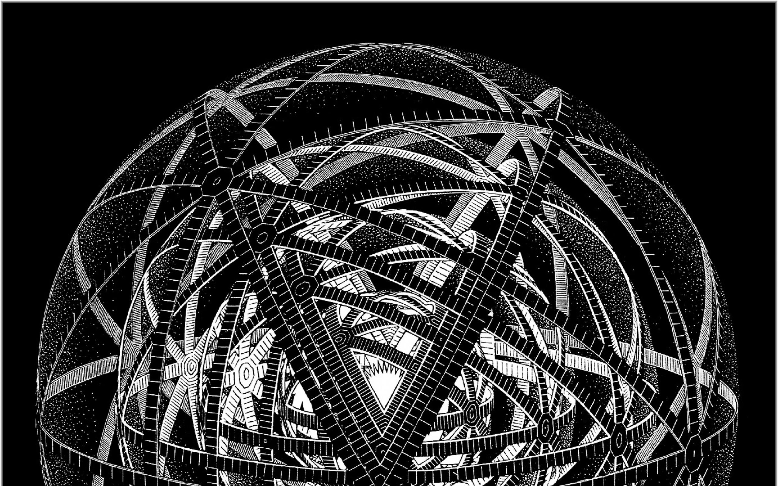 mc escher 1383×1400 wallpaper Art HD Wallpaper