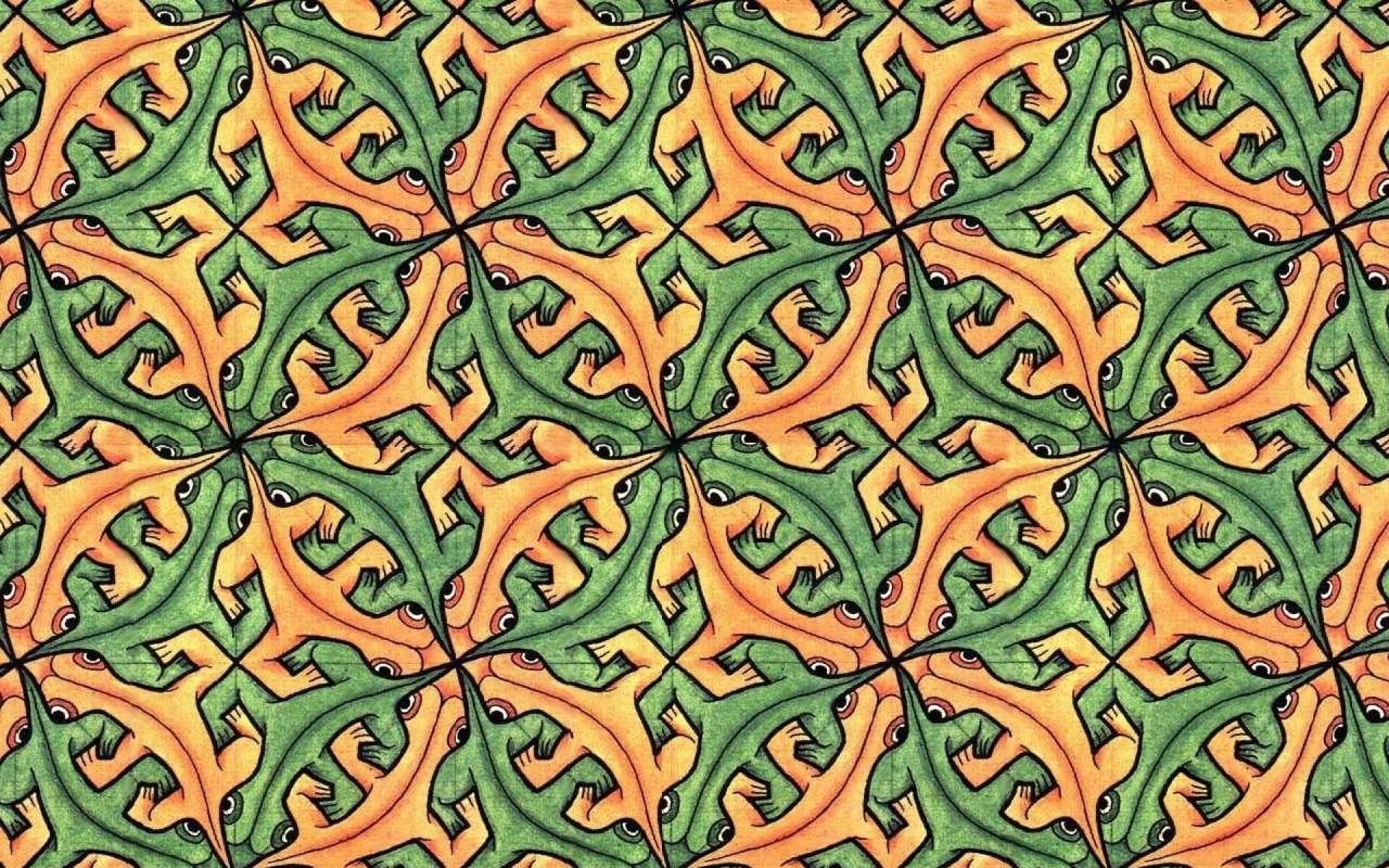 patterns mc escher 1280×1024 wallpaper Art HD Wallpaper