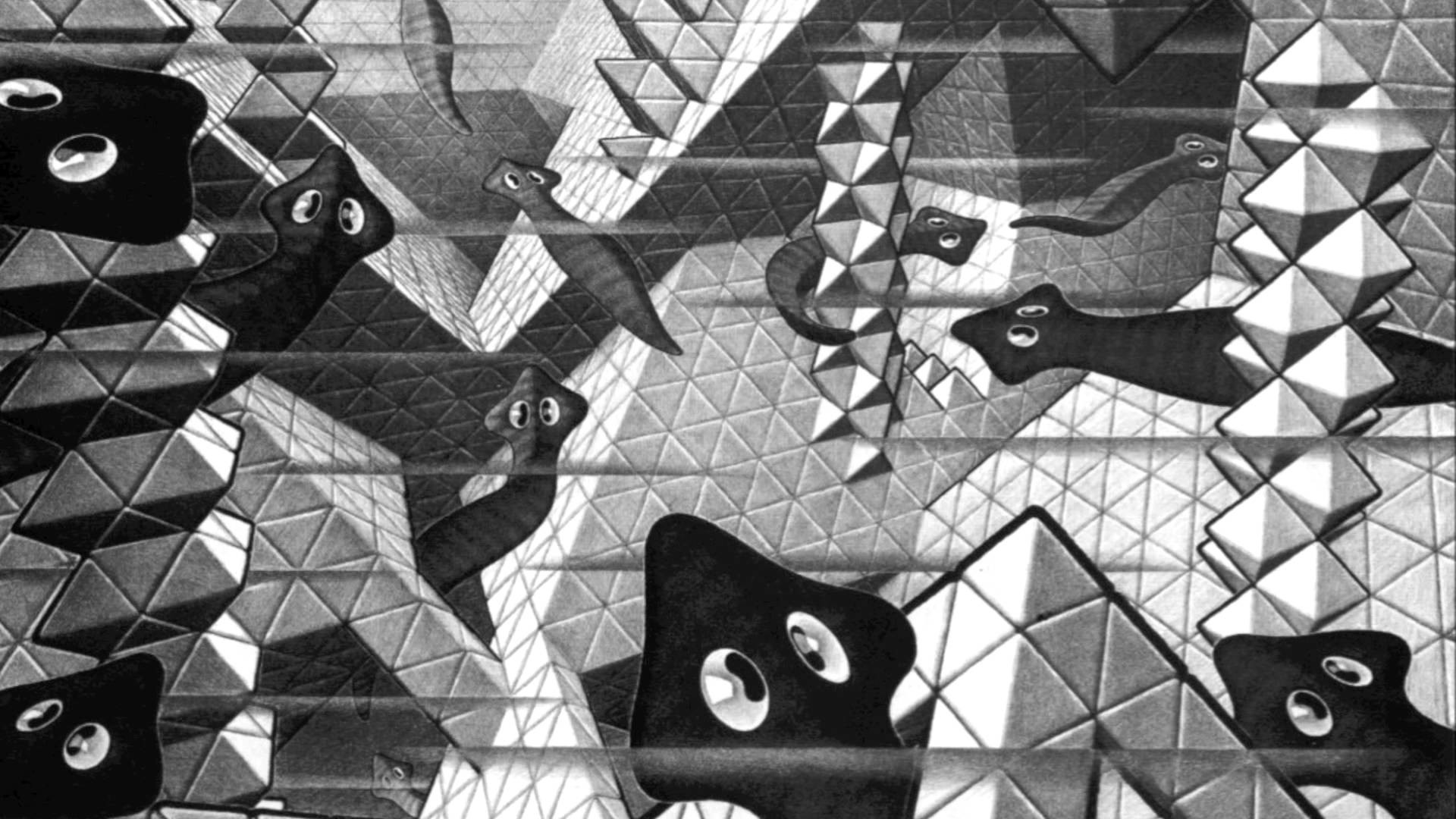 MC ESCHER: We Are In Escher