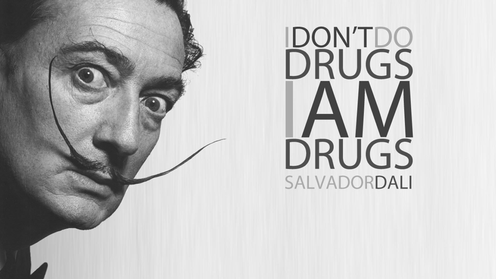 Salvador Dali Quote HD Wallpaper. « »