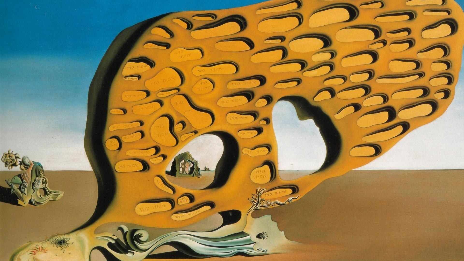 Arts, Salvador Dali, Paintings, The Mystery Of Desire Salvador Dali  Painting Arts …