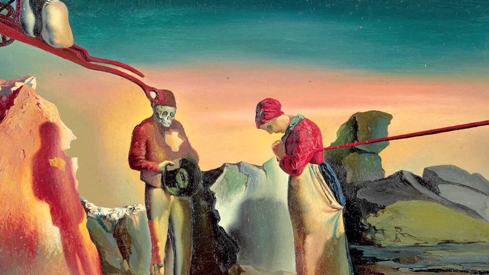 Salvador Dalí (1904 – 1989), Atavisms of Twilight (Compulsive Idea), around  1933 – YouTube