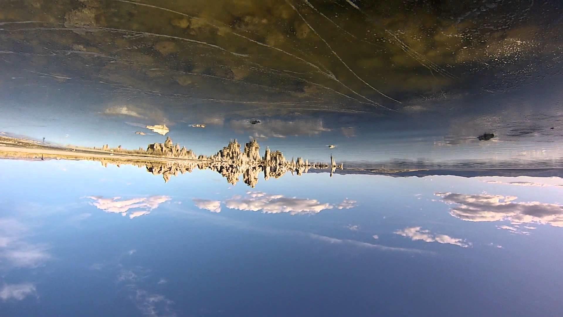 Salvador Dali at Mono Lake, Lee Vining, California