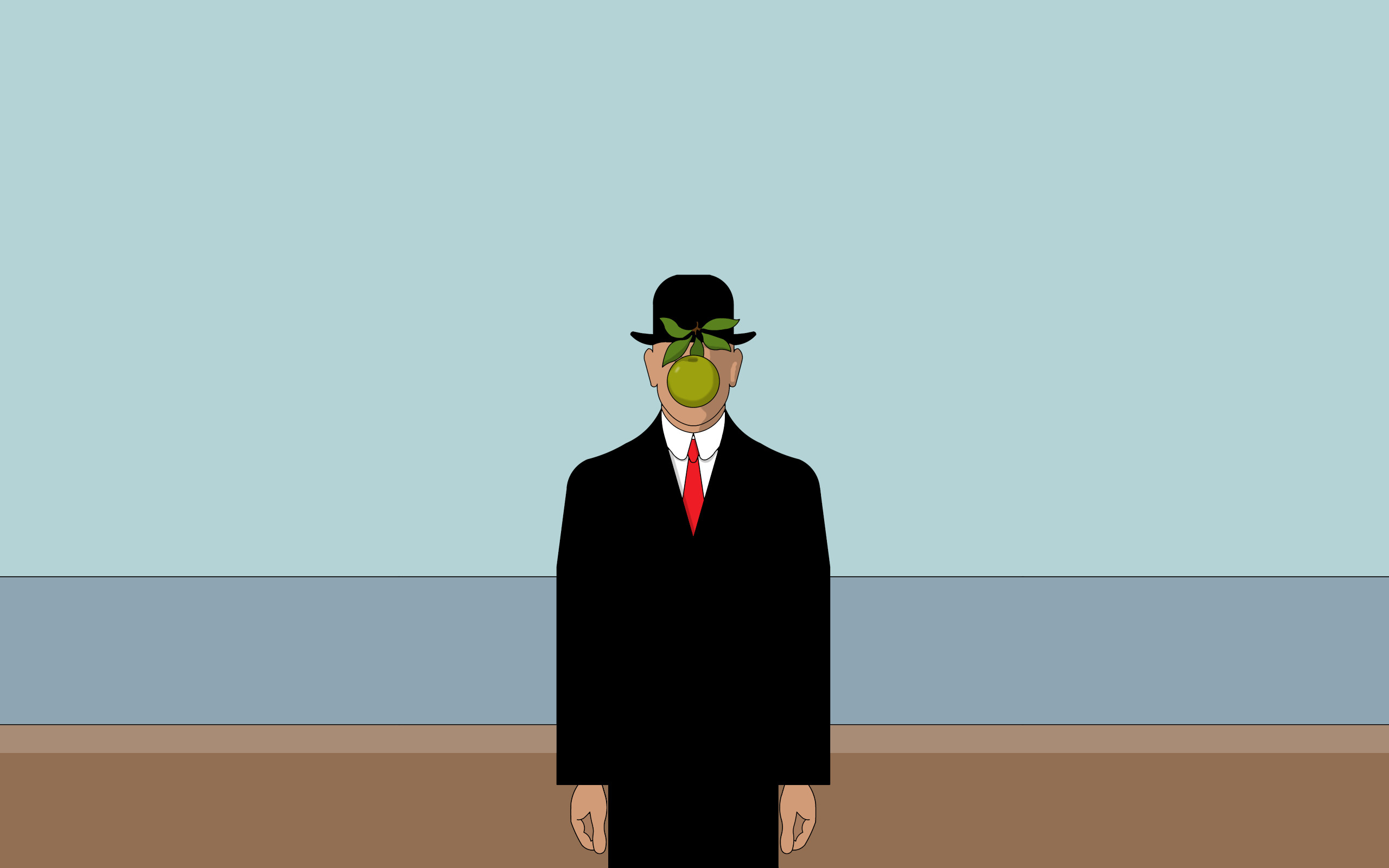 Rene Magritte Painting. How to set wallpaper on your desktop?  Click the download link from above and set the wallpaper on the desktop  from your …