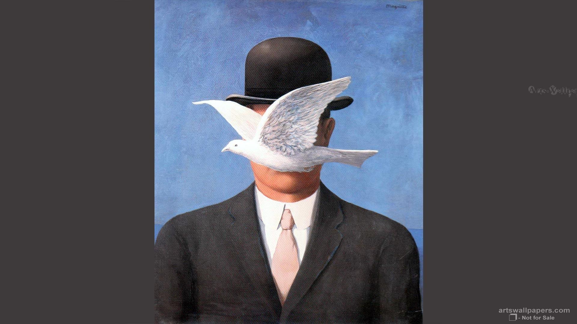 Rene Magritte Art Paintings Fine Wallpaper, 1920×1080   Art Wallpaper