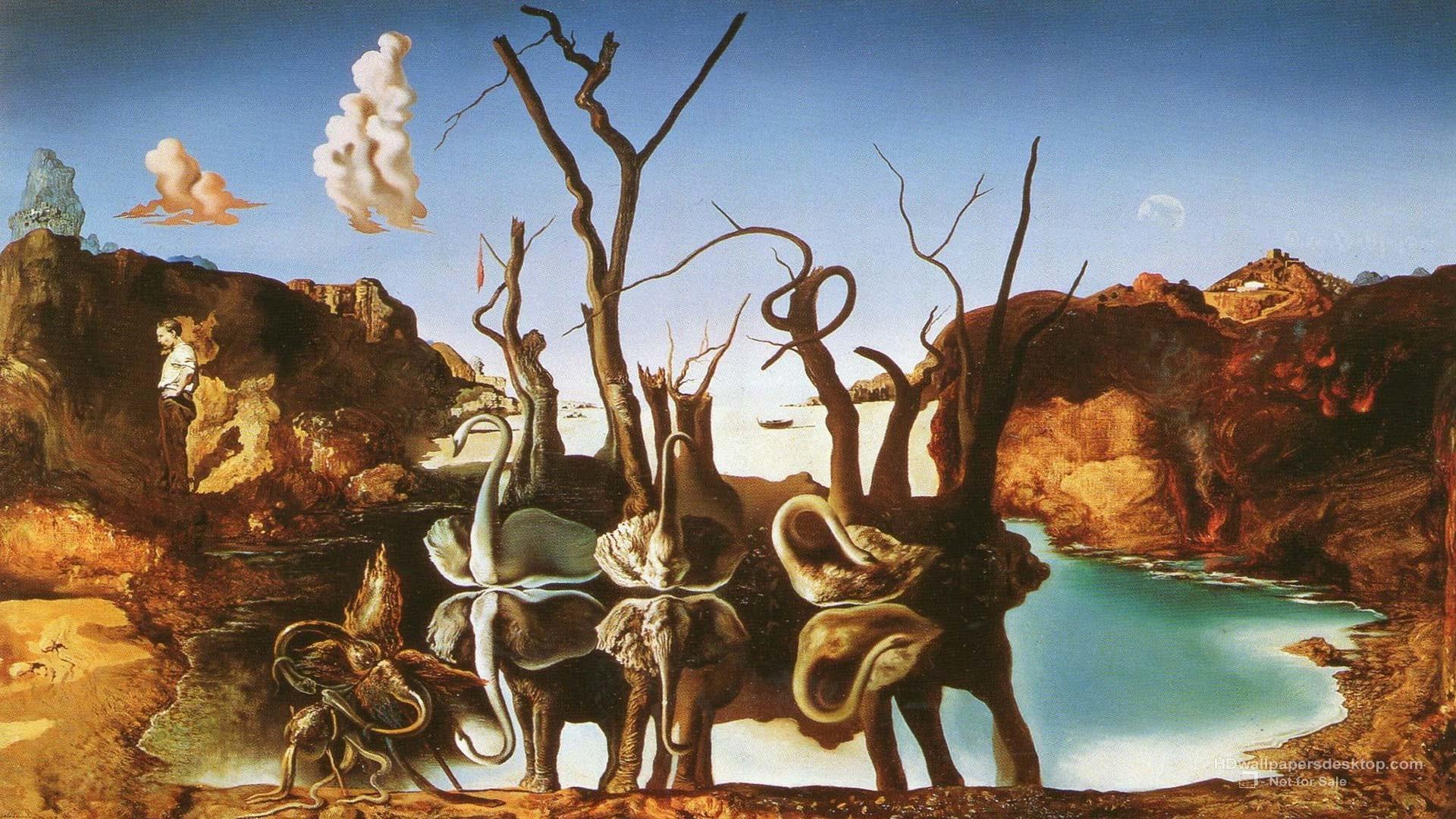 Salvador Dali Wallpapers, Art, Paintings, Desktop Wallpapers