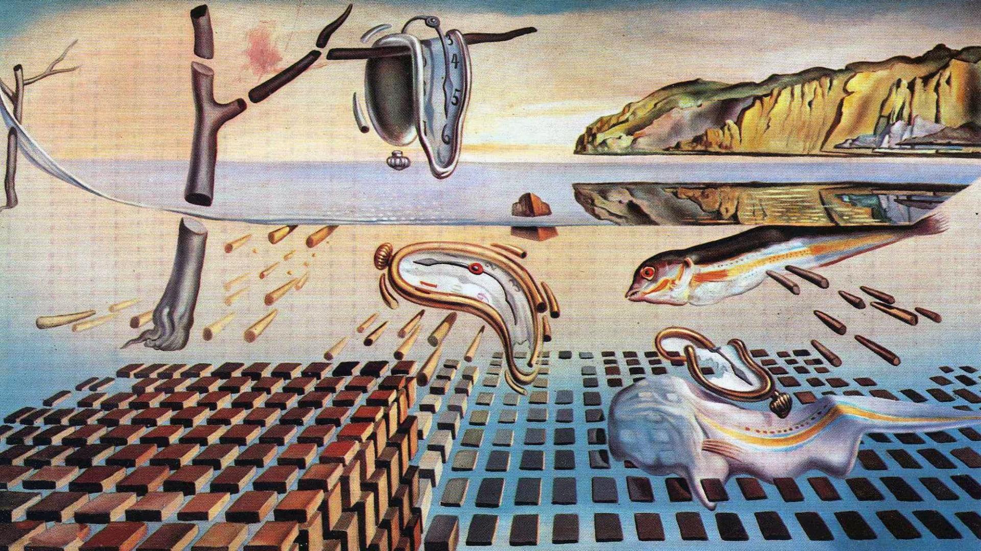 Salvador Dali Wallpaper HD.