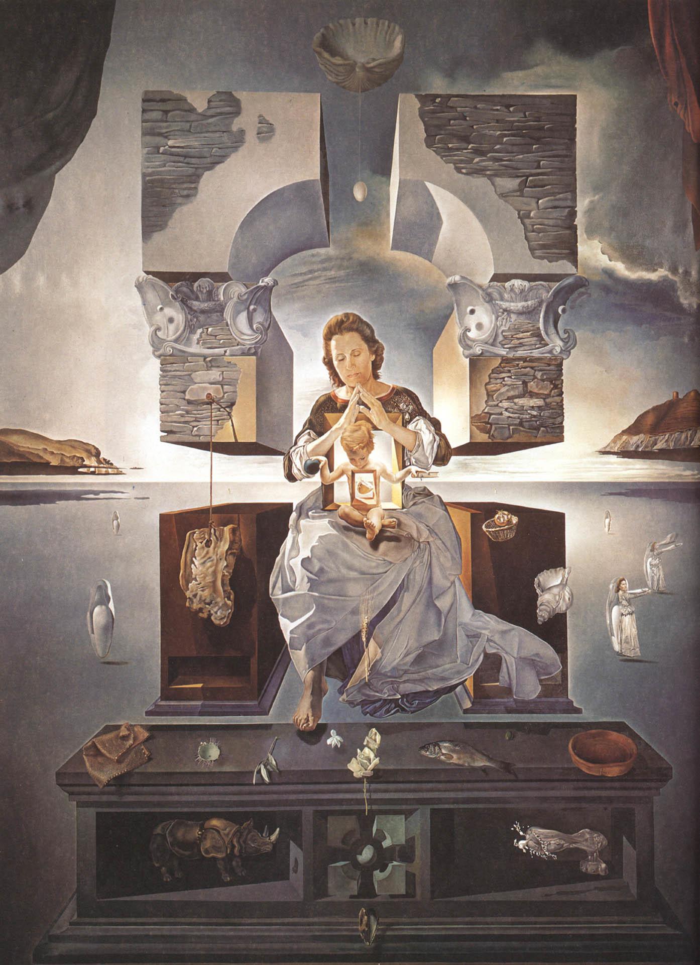 https://www.wallpapers-free.co.uk/arts/surrealist/salvador_dali/the-madonna-of-port-lligat-ii.jpg  | Surrealist art | Pinterest | Salvador, Dali and Madonna