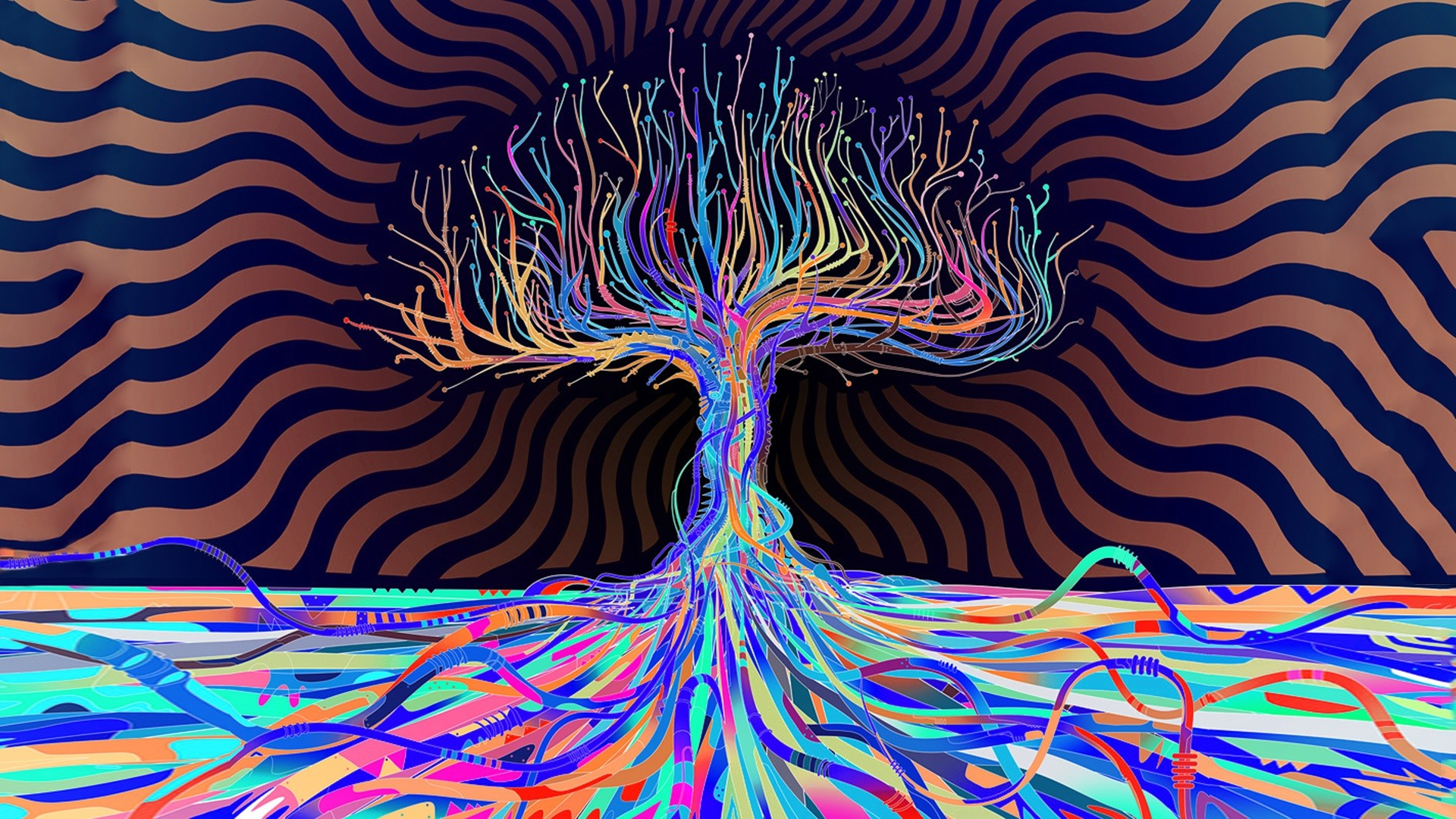 Psychedelic HD Wallpapers Wallpaper | HD Wallpapers | Pinterest |  Psychedelic, Hd wallpaper and Wallpaper