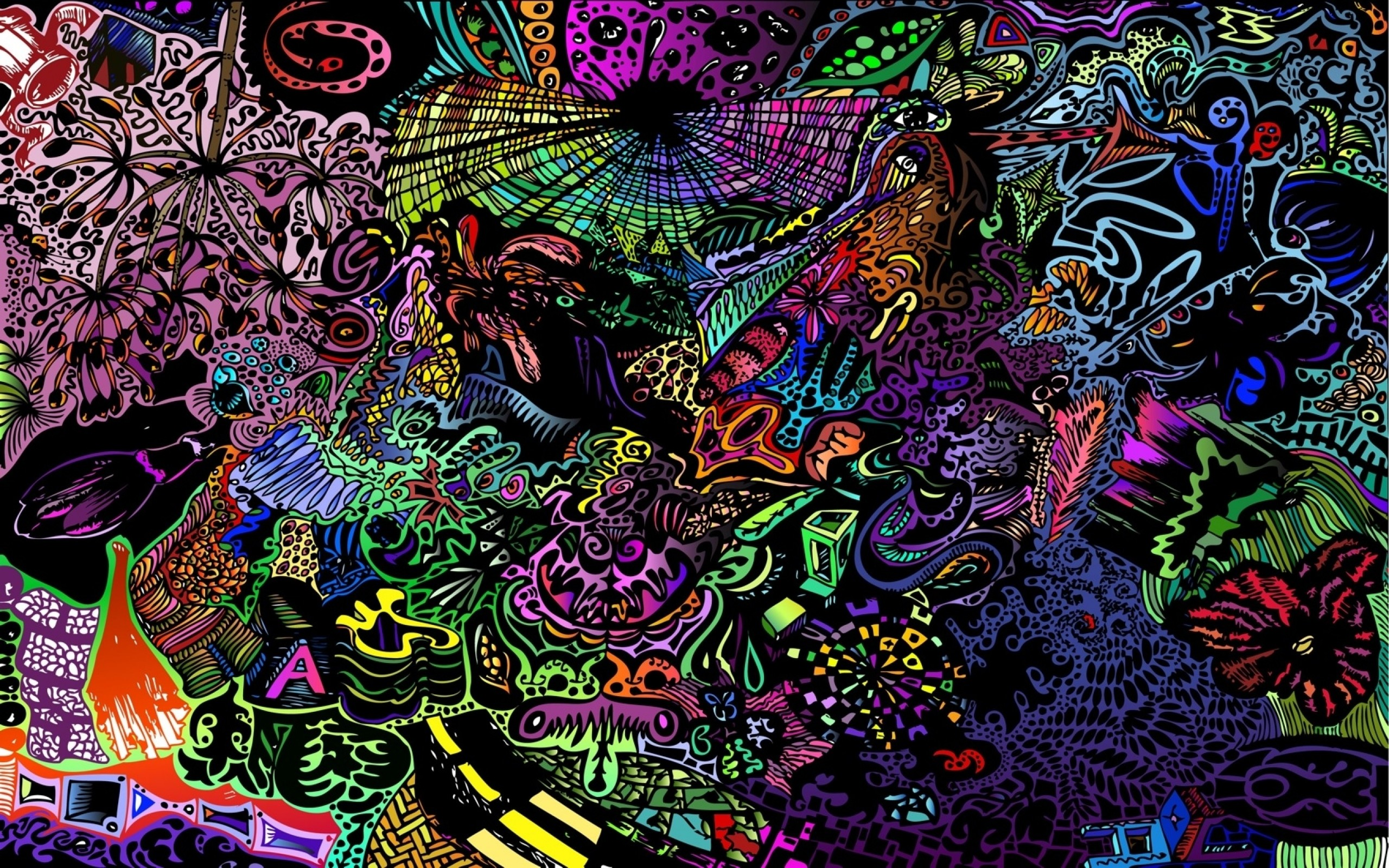 treanding trippy wallpaper HD
