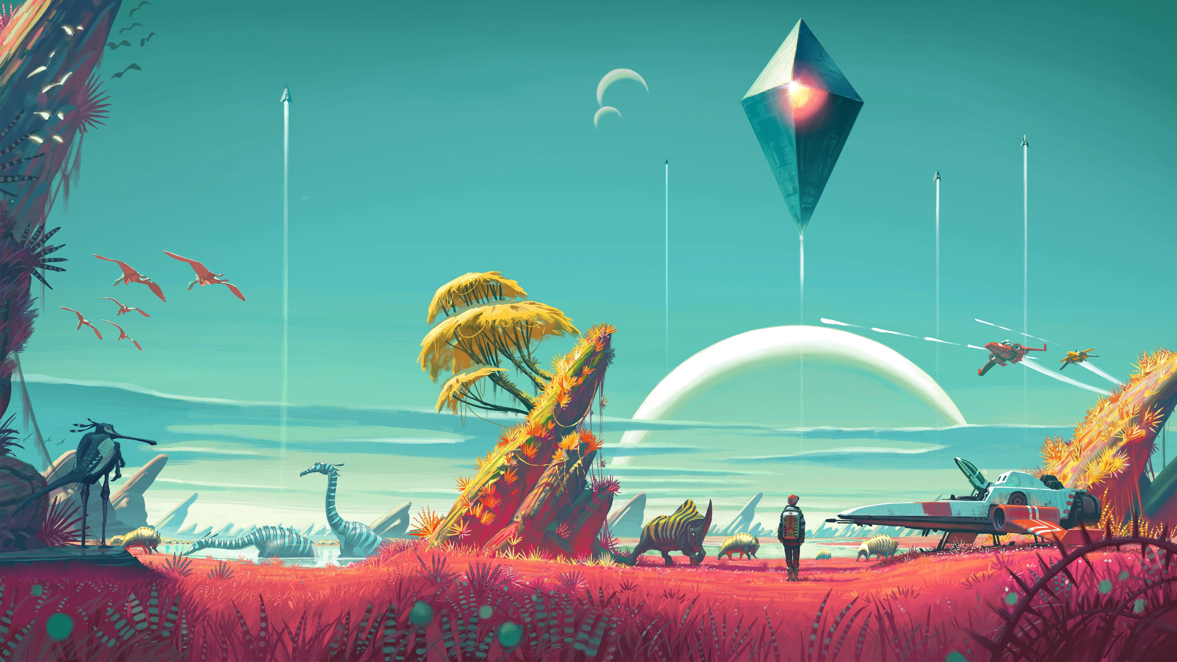 No Man's Sky 4K Wallpaper …