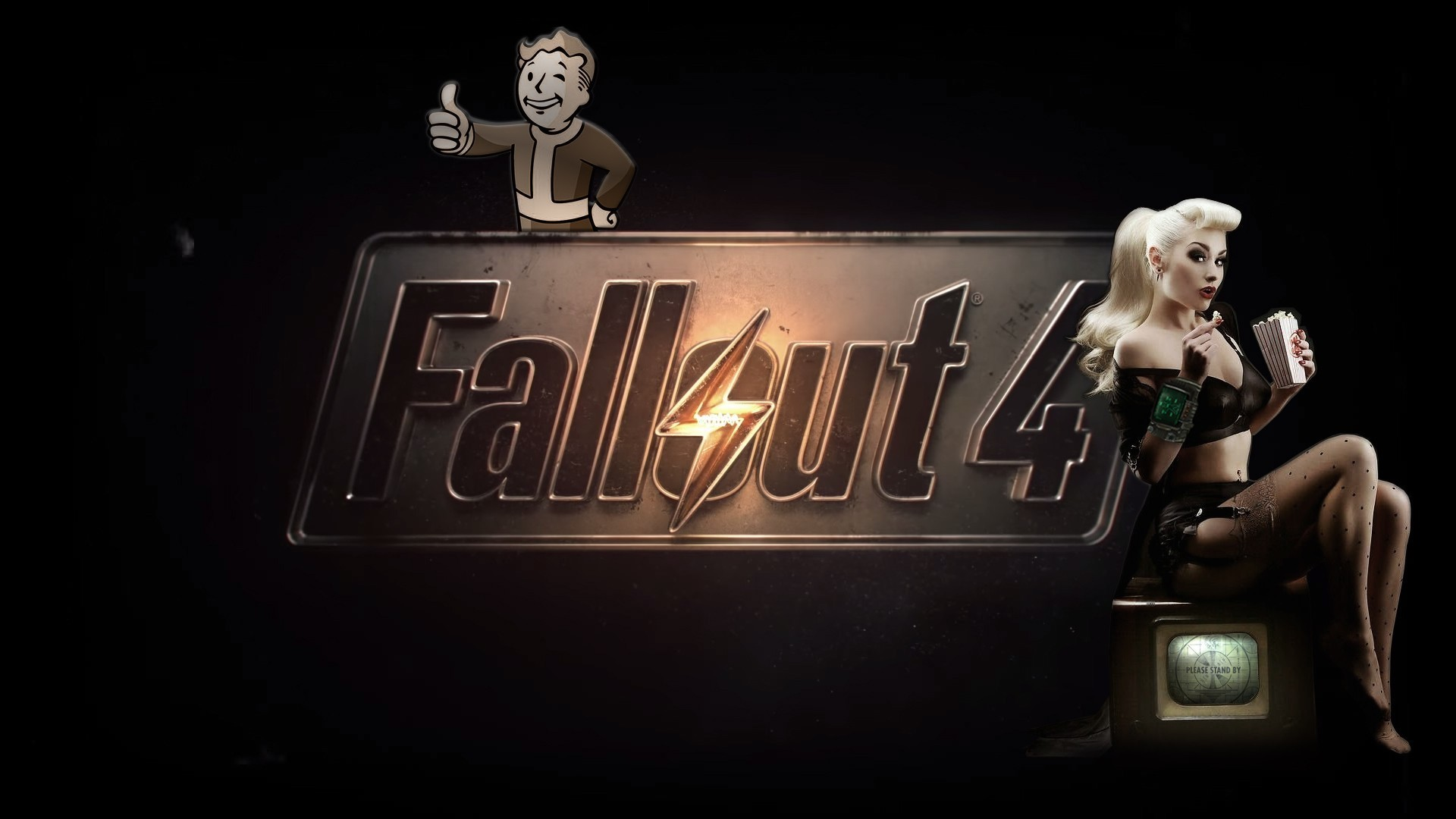 Fallout 4, Fallout, Girl, Game wallpaper thumb