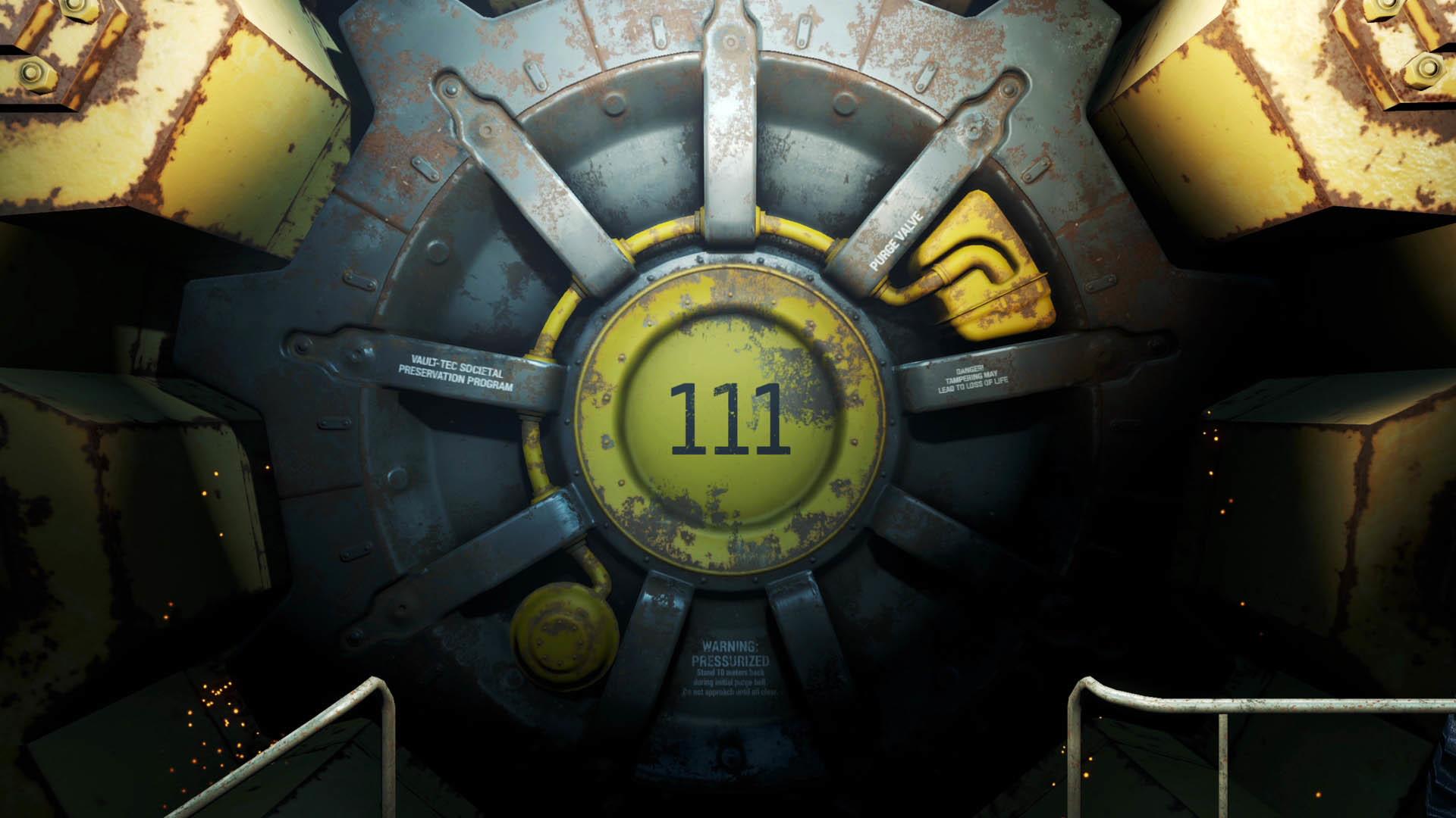 Fallout 4 – Vault #111 wallpaper
