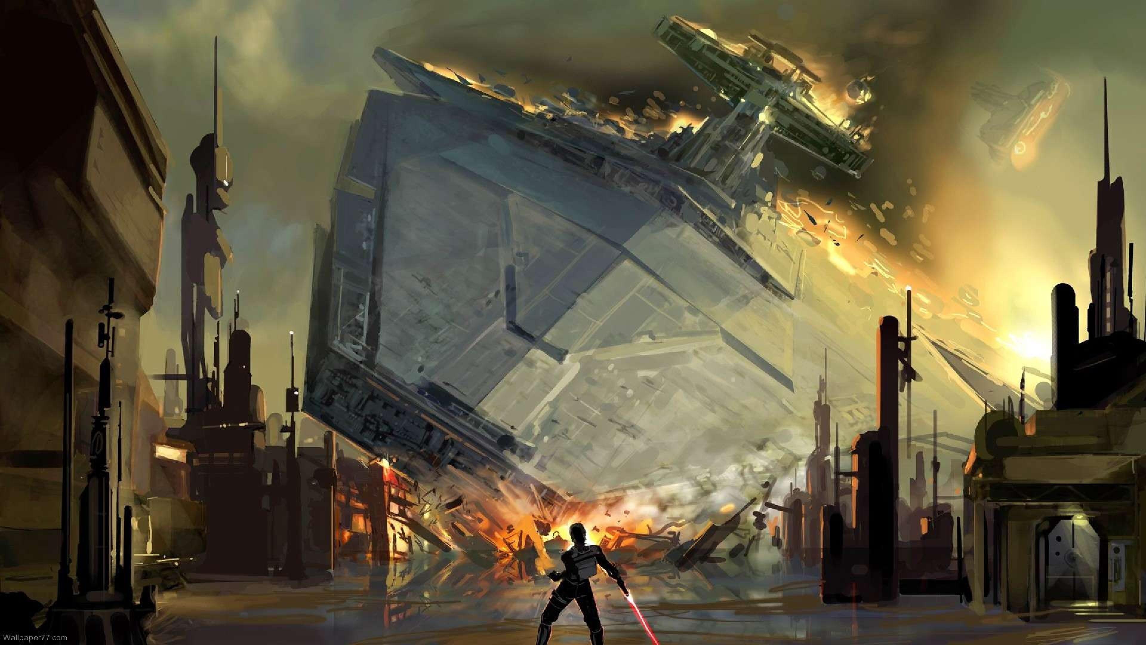 star wars concept art wallpaper