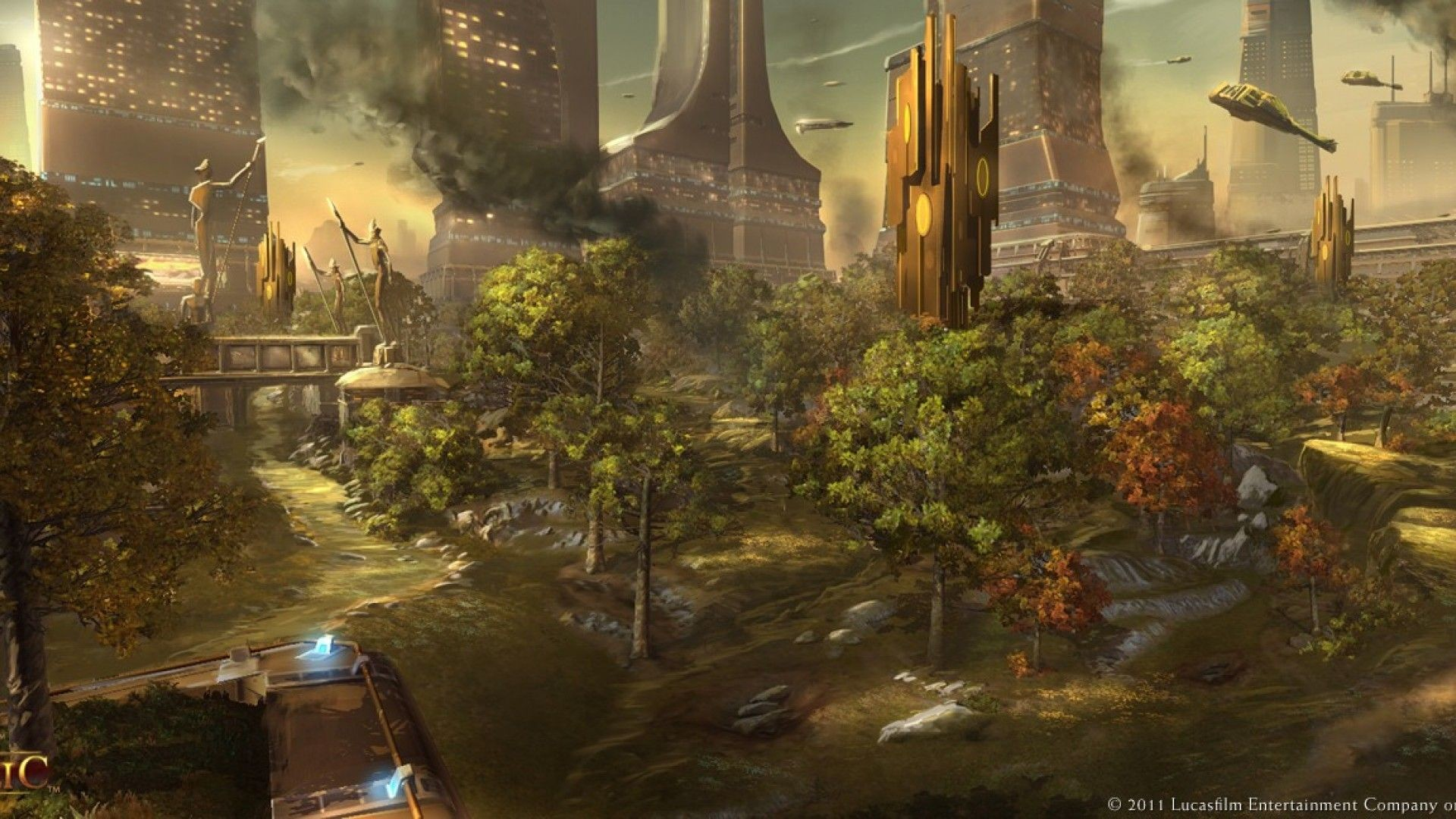 Star Wars Concept Art, republic, old, HD Wallpaper and .