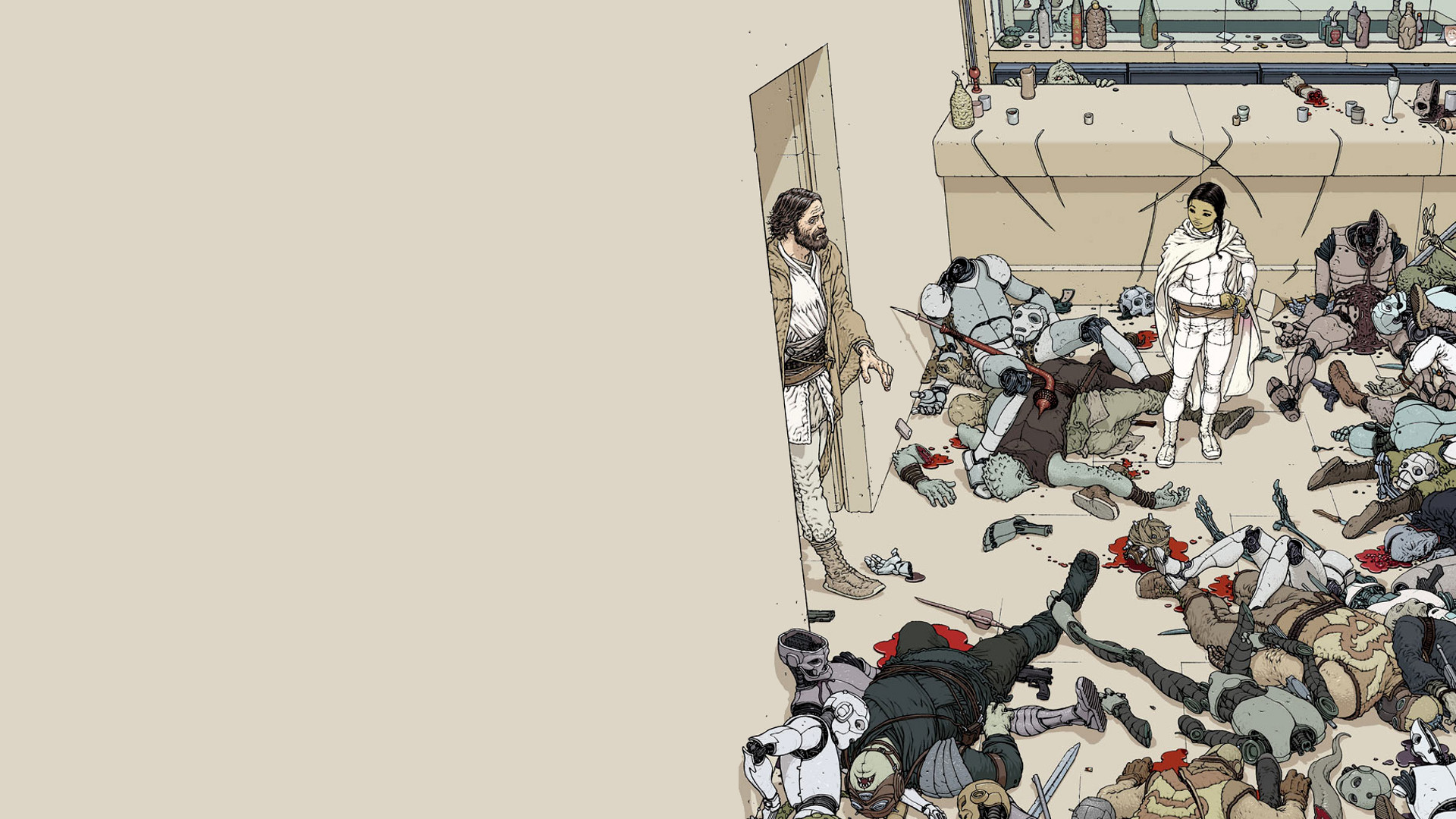 Photo 17 Jul 10 notes · Star wars by Frank Quitely