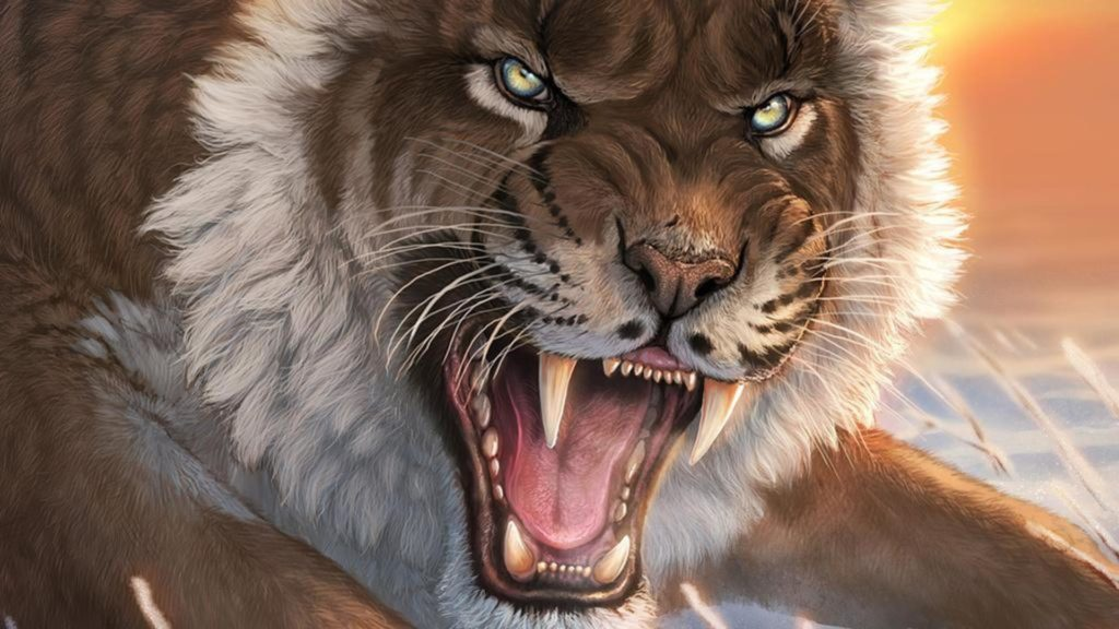 Saber Tooth Tiger Wallpapers – Wallpaper Cave