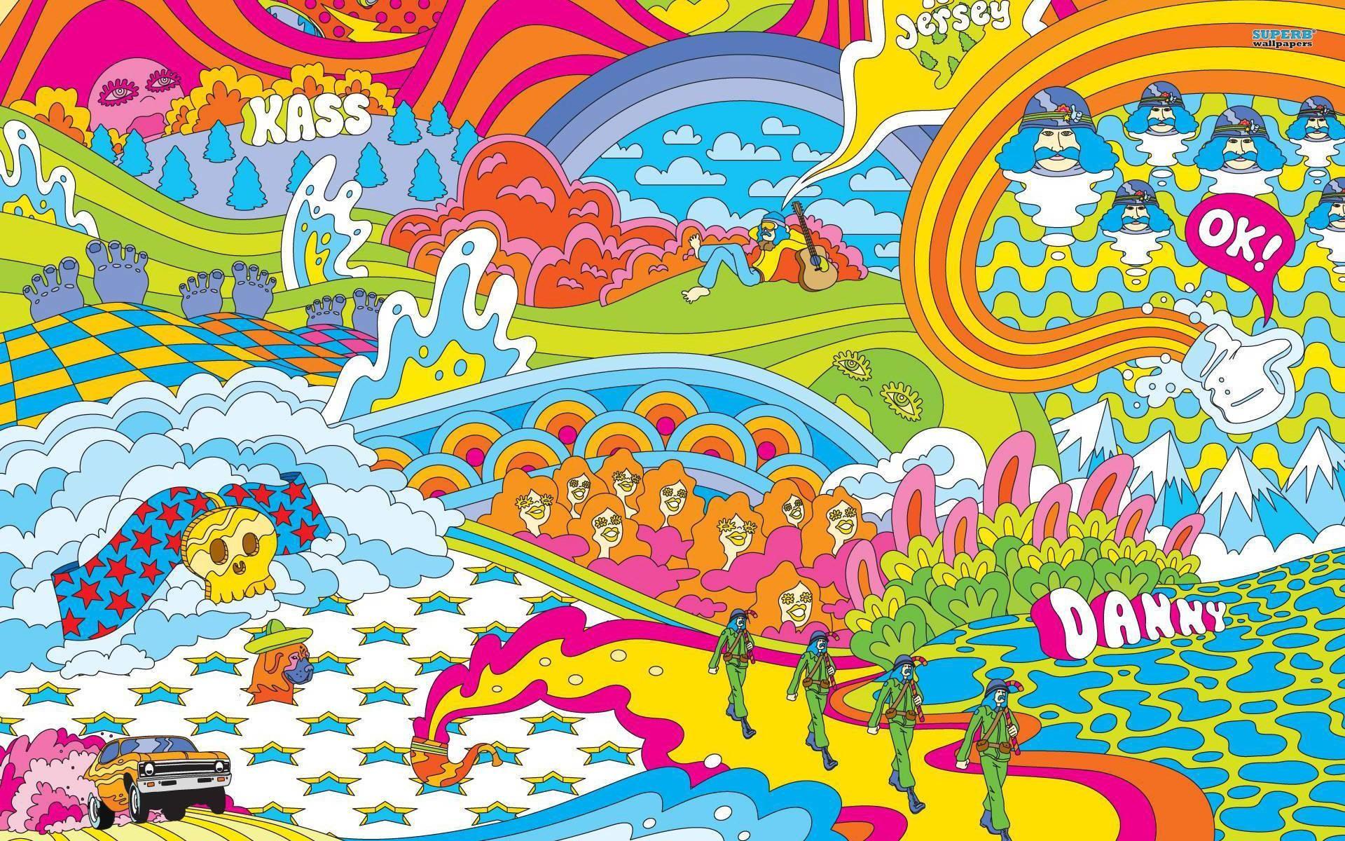 Wallpapers For > Hippie Wallpaper Desktop