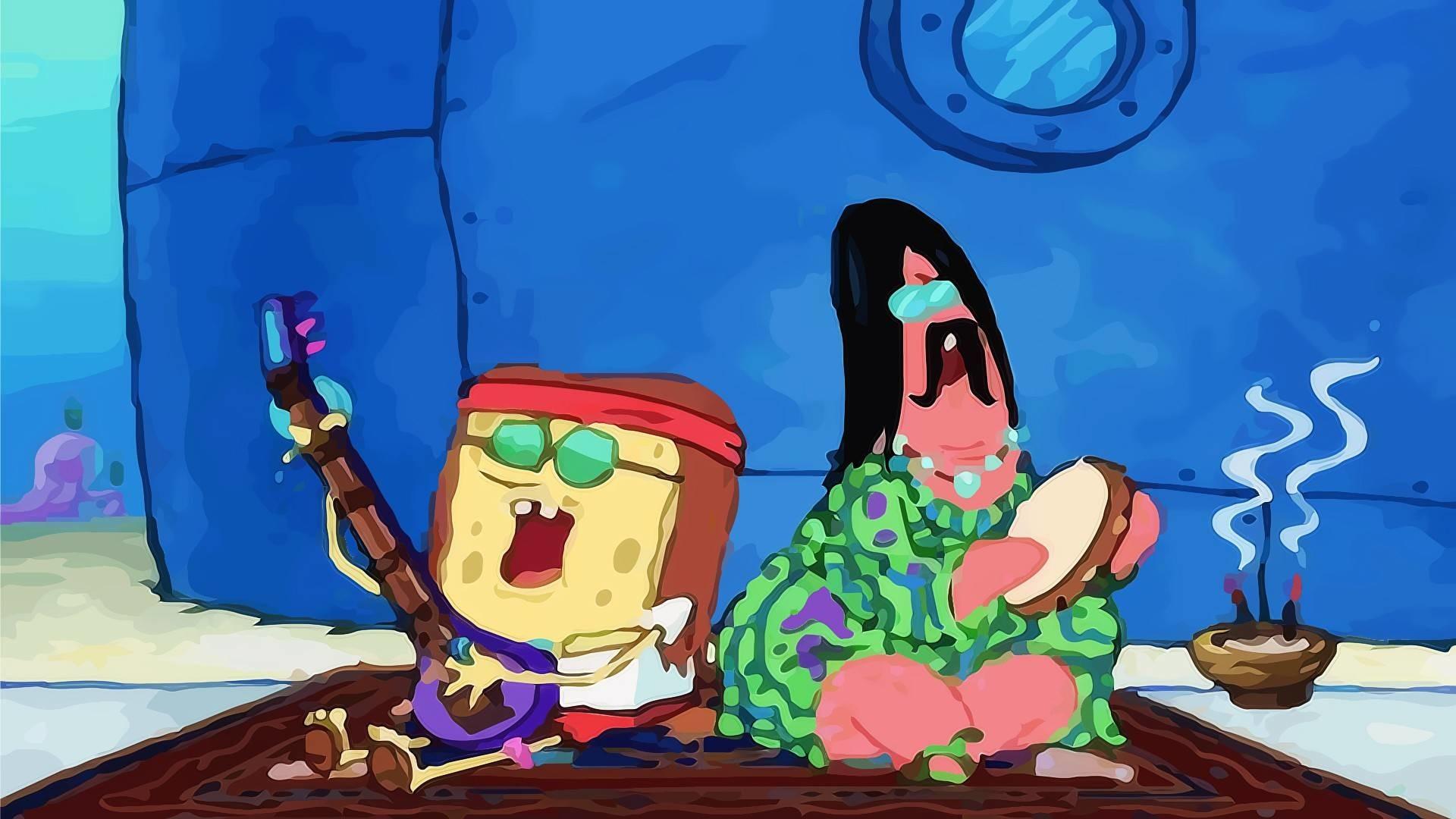 15 HD SpongeBob Squarepants Desktop Wallpapers For Free Download