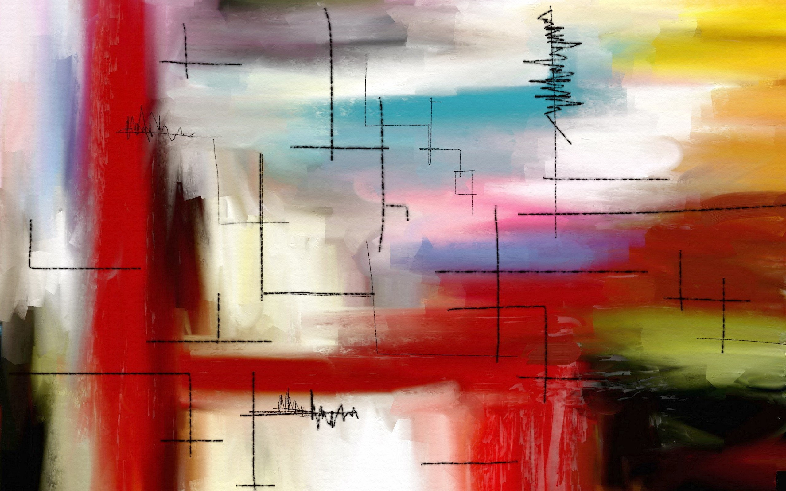 Modern Art Background For Desktop Wallpaper 2560 x 1600 px 1.2 MB mid  century contemporary abstract