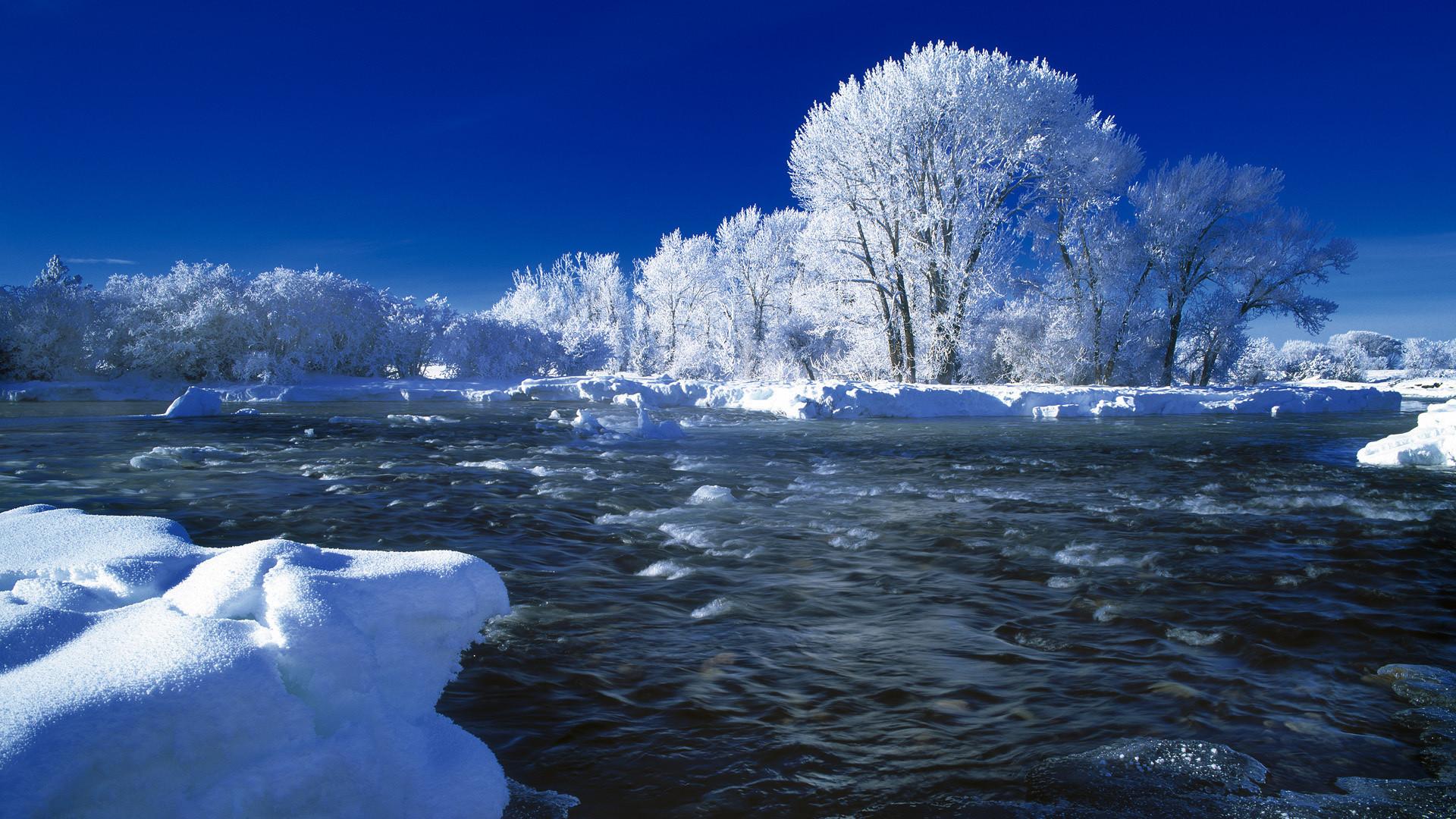 Winter in Idaho
