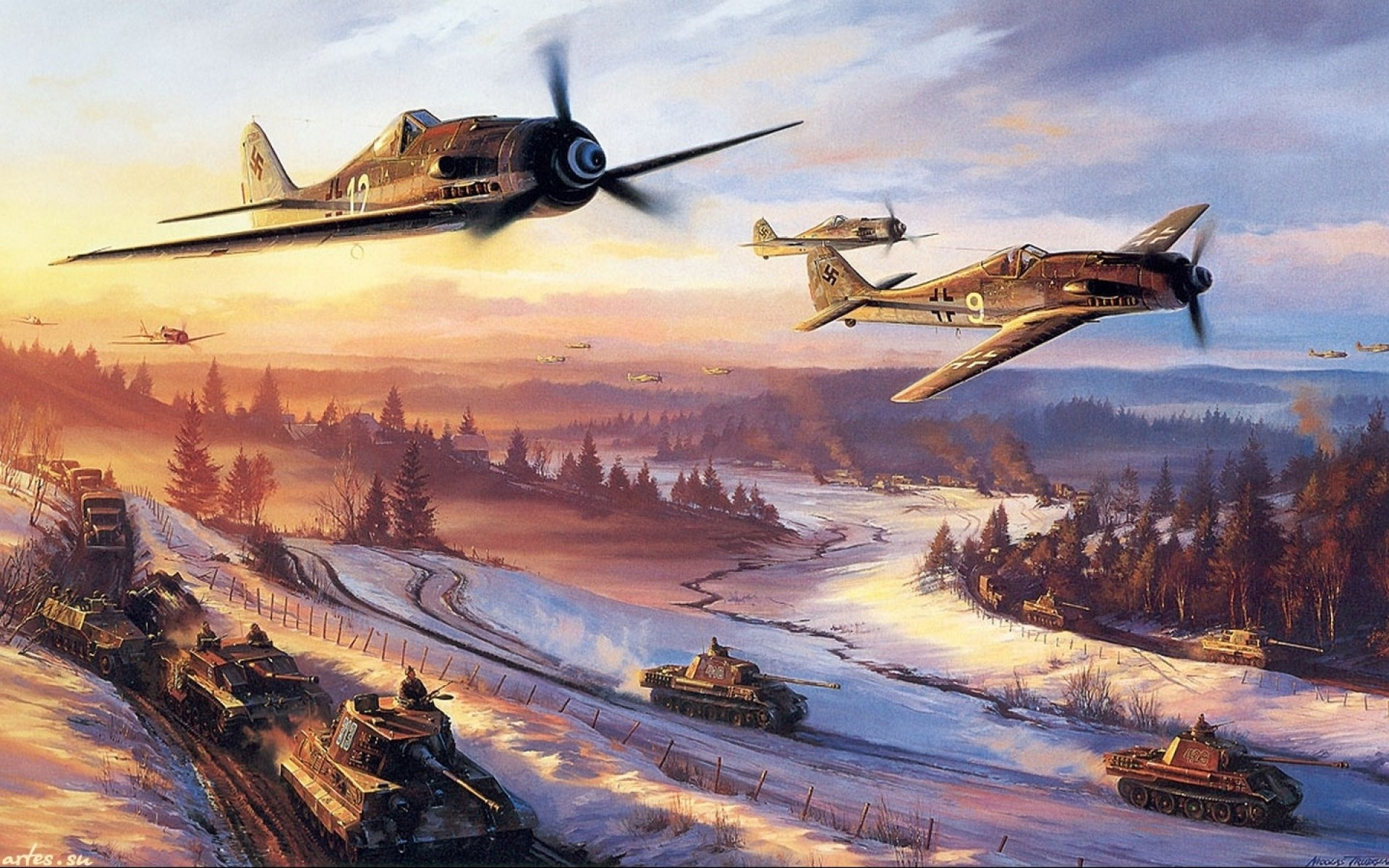 Military Aircraft Wallpapers Paintings Backgro #21040 Wallpaper .