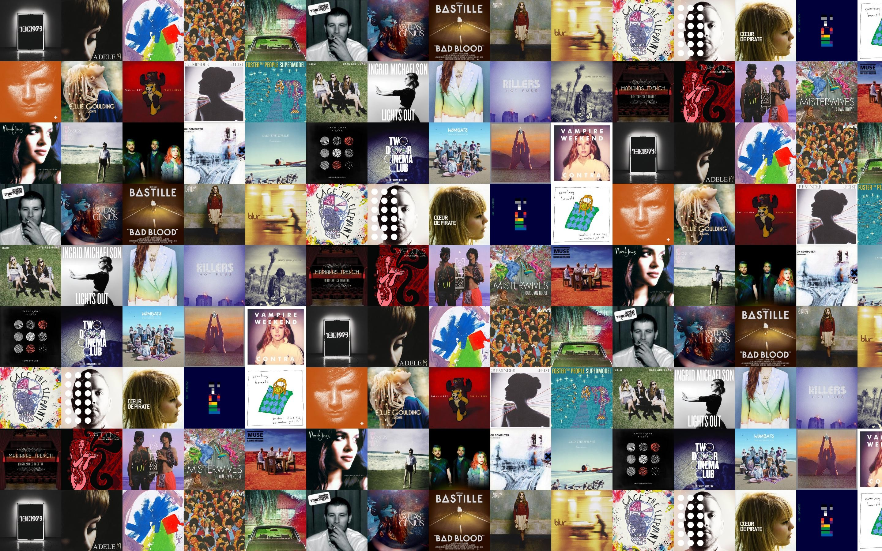 The 1975 The 1975 Adele 19 Alt-J This Wallpaper
