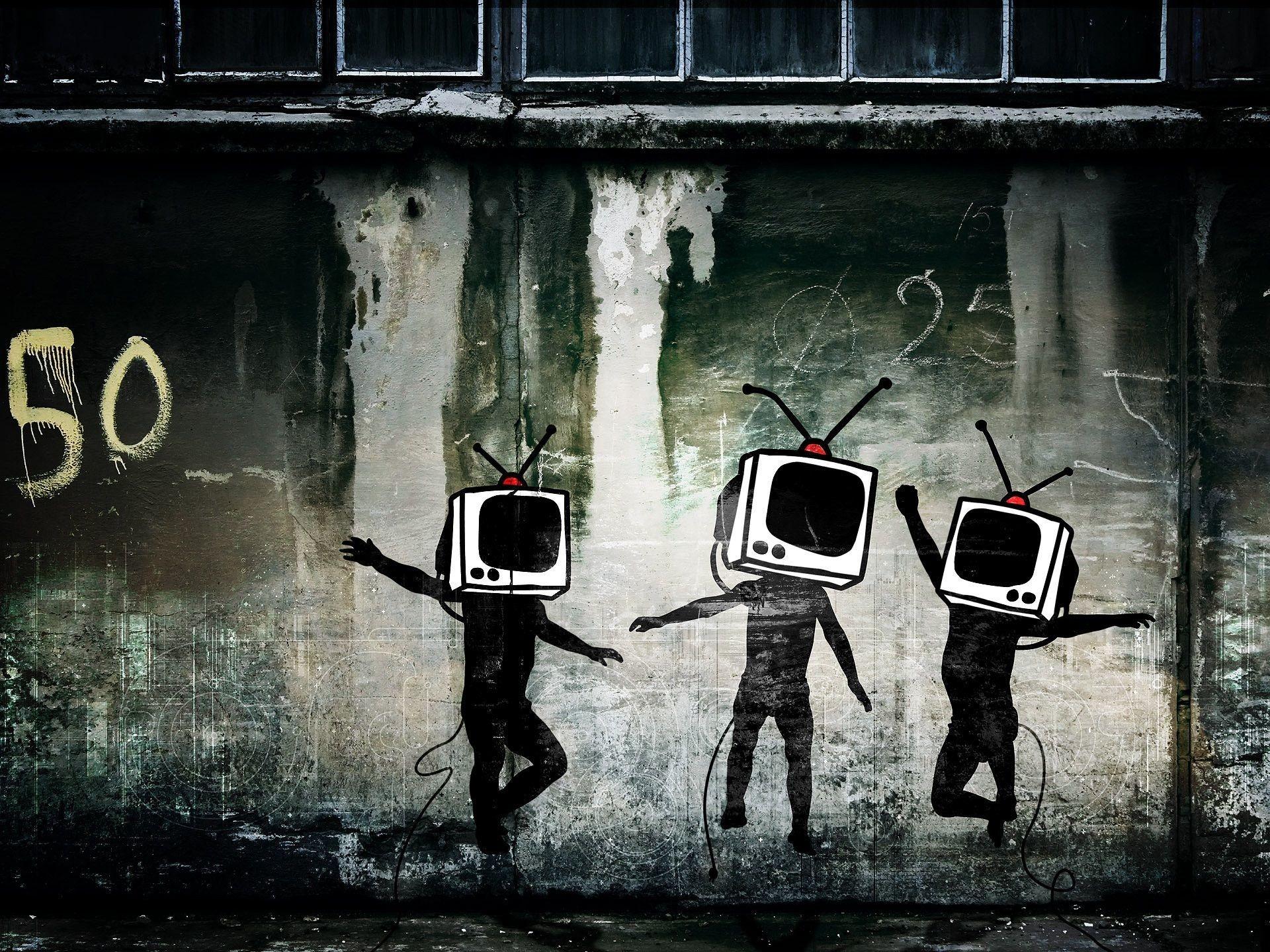 Banksy Desktop Wallpapers – Wallpaper Cave