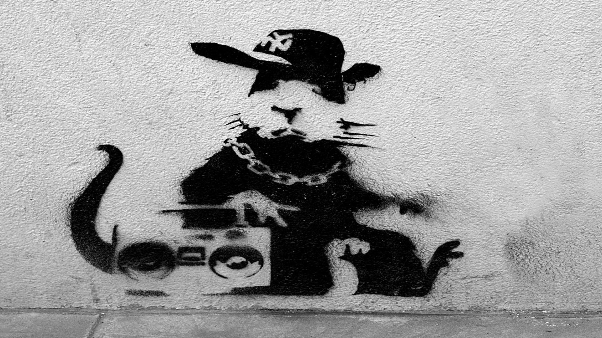 wallpaper.wiki-Banksy-Art-Bakcground-Full-HD-PIC-