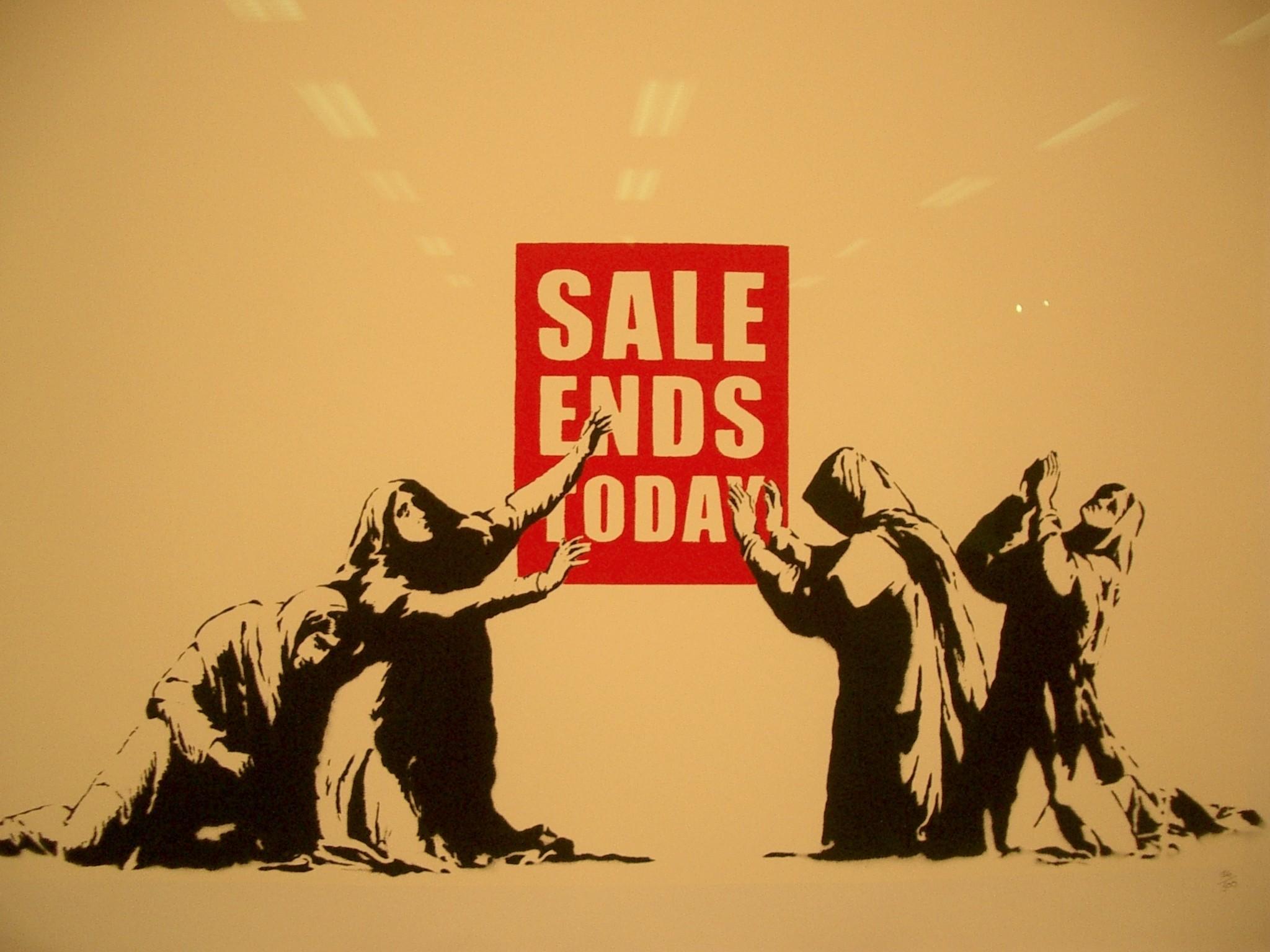 yellow humor Banksy capitalism artwork satire yellow background – Wallpaper  (#1322625) / Wallbase