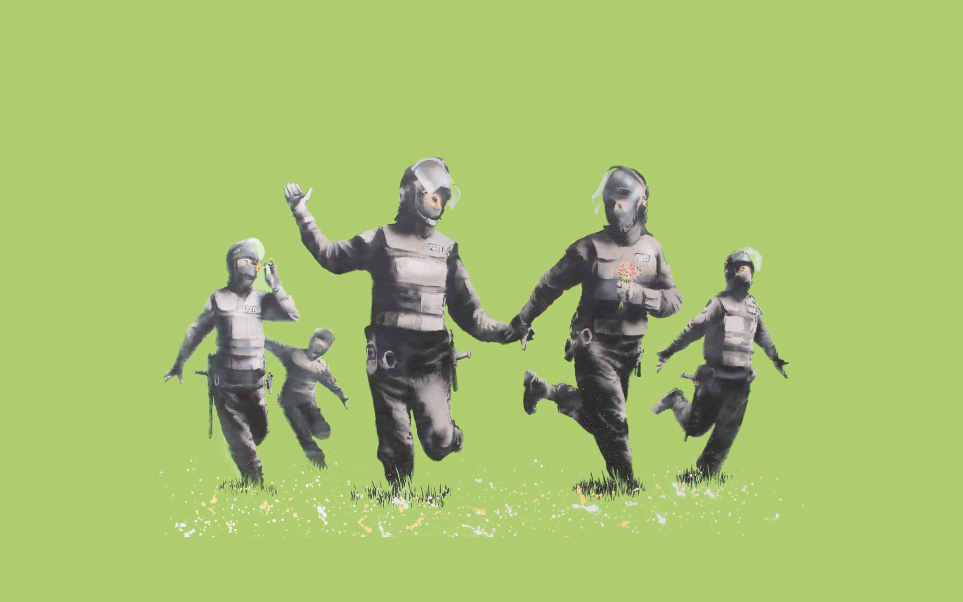 Banksy Art Wallpapers – Wallpaper Cave