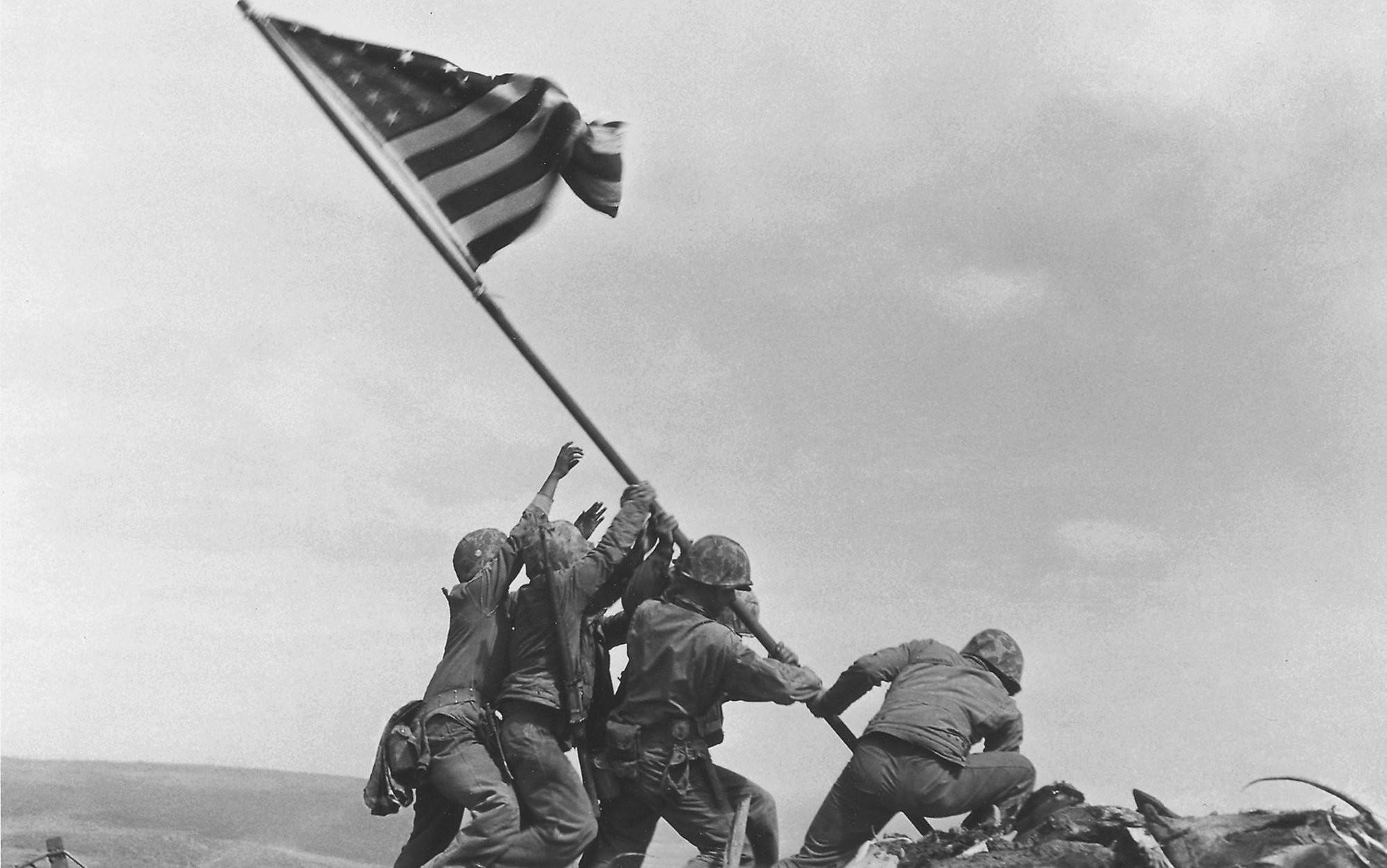 Banksy McDonalds Iwo Jima Wallpaper by HD Wallpapers Daily 800×600 Raising  the Flag on