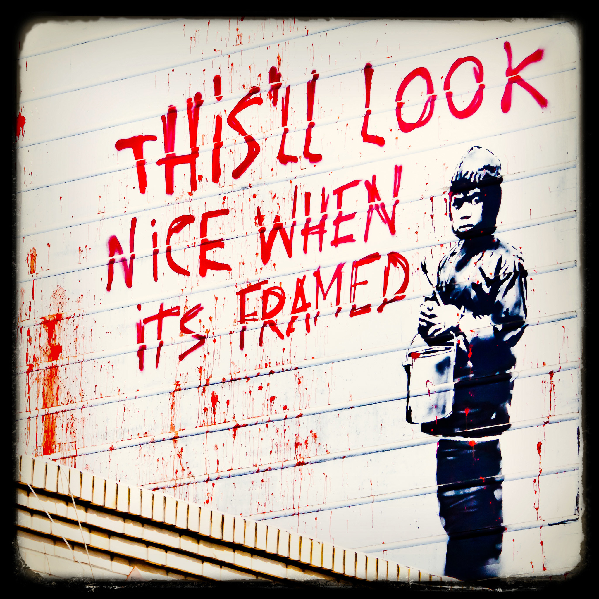 thomas hawk – more banksy in san francisco ipad wallpaper