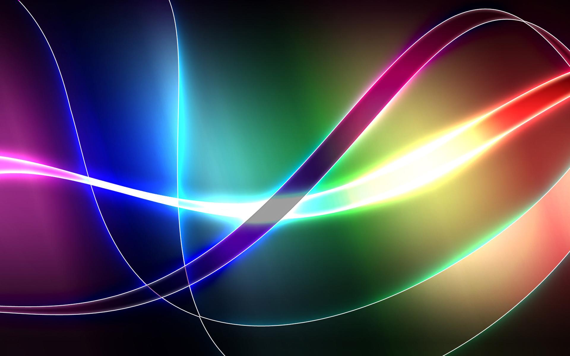 Abstract Cool Colors Shapes Patterns Shades Texture CGI Ribbons Abstract  Artistic Wallpaper