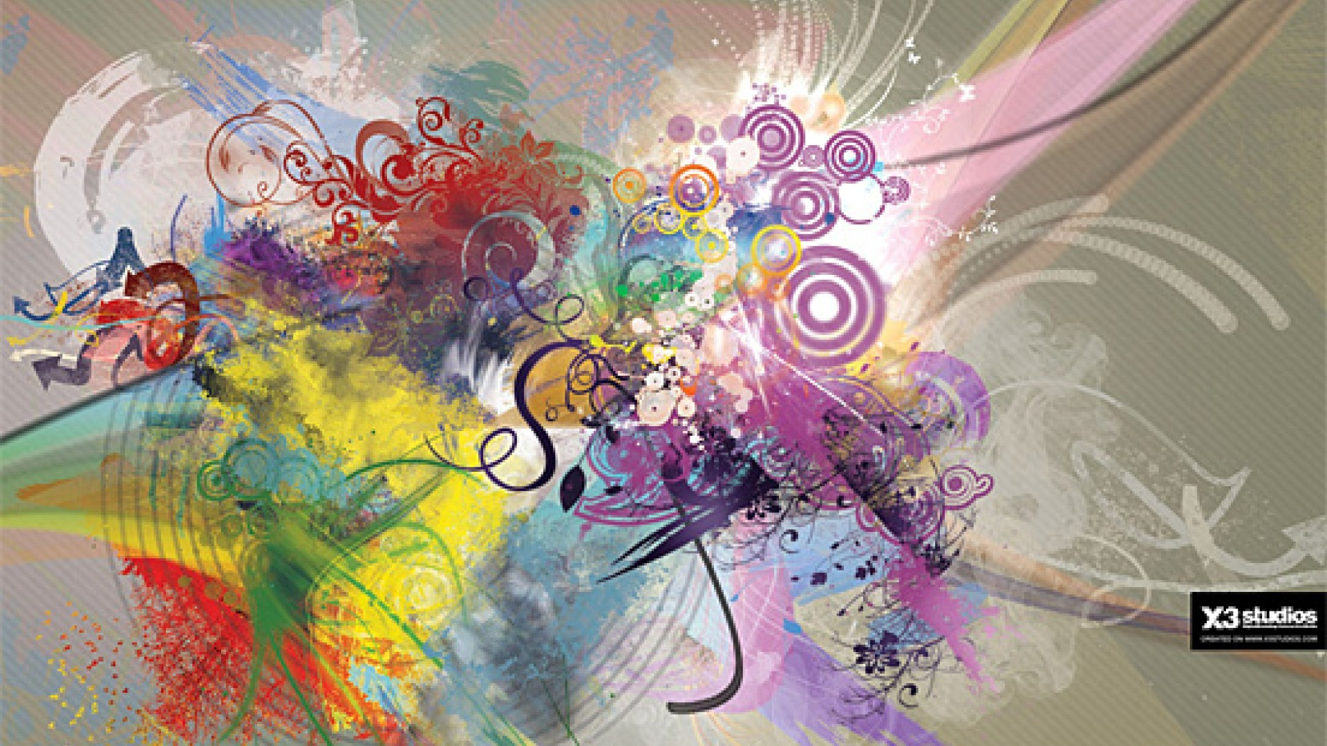 Cool Abstract Art Backgrounds Slide Background Image