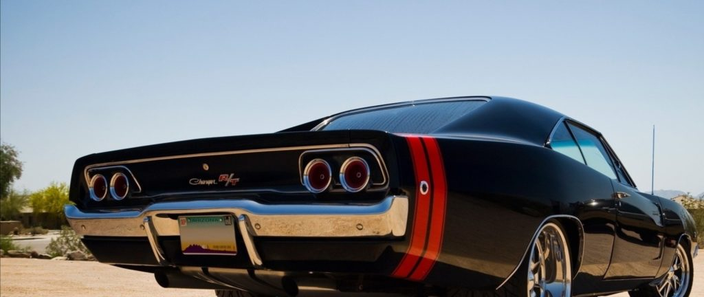 Preview wallpaper muscle cars, dodge, dodge charger, car, stylish 2560×1080